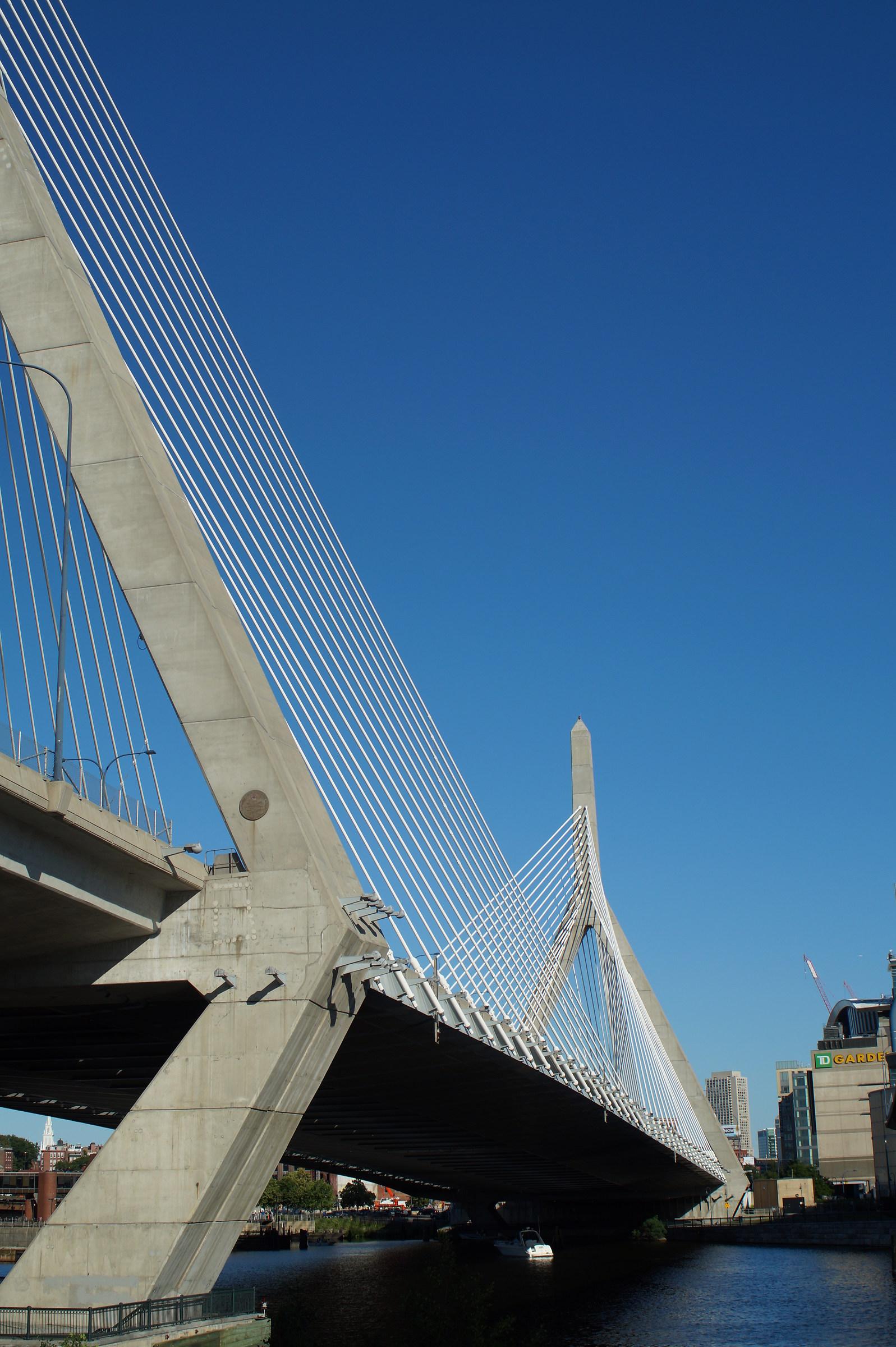 Leonard P. Zakim Bunker Hill Bridge...