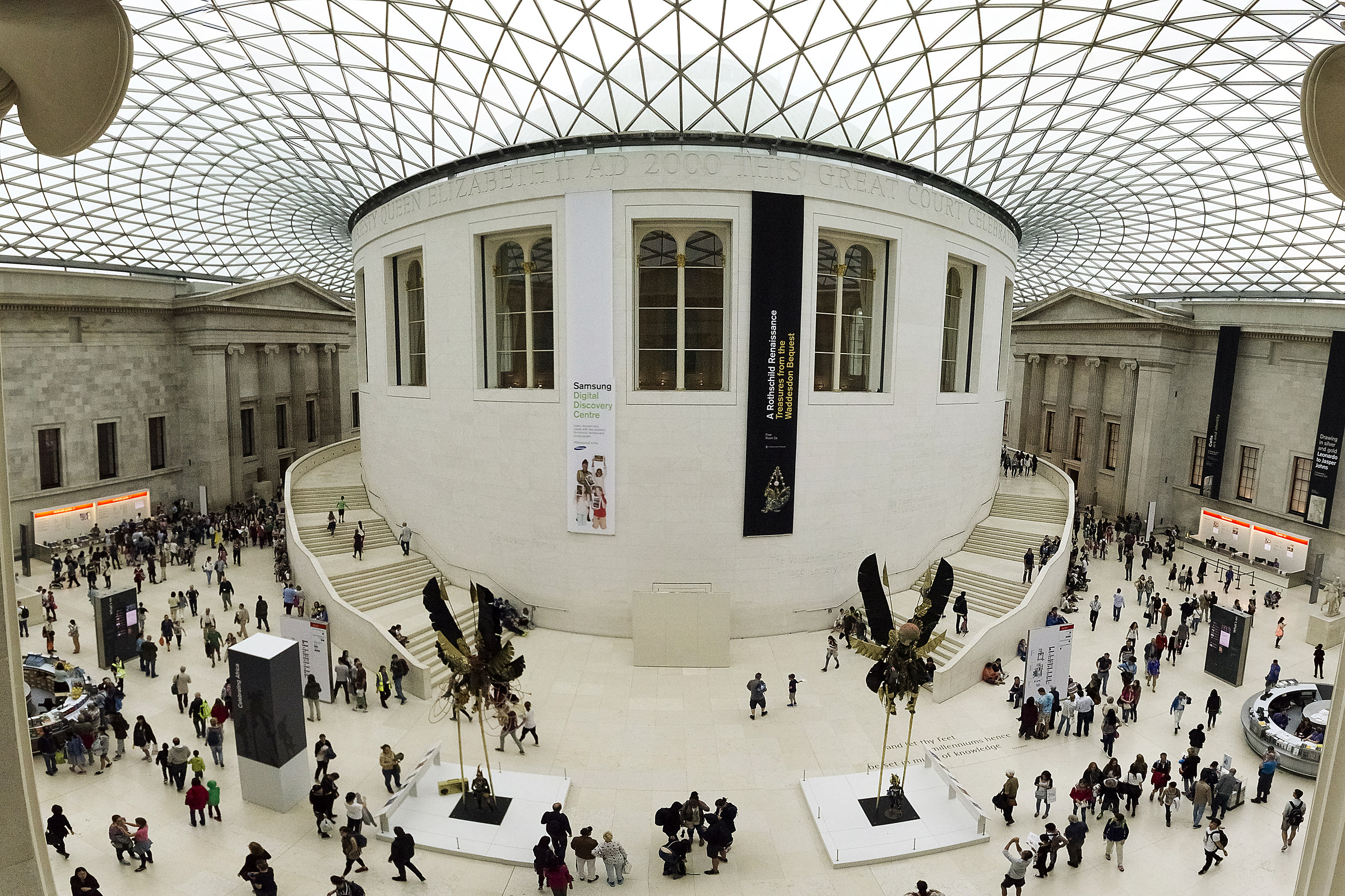 Central Hall - British Museum...