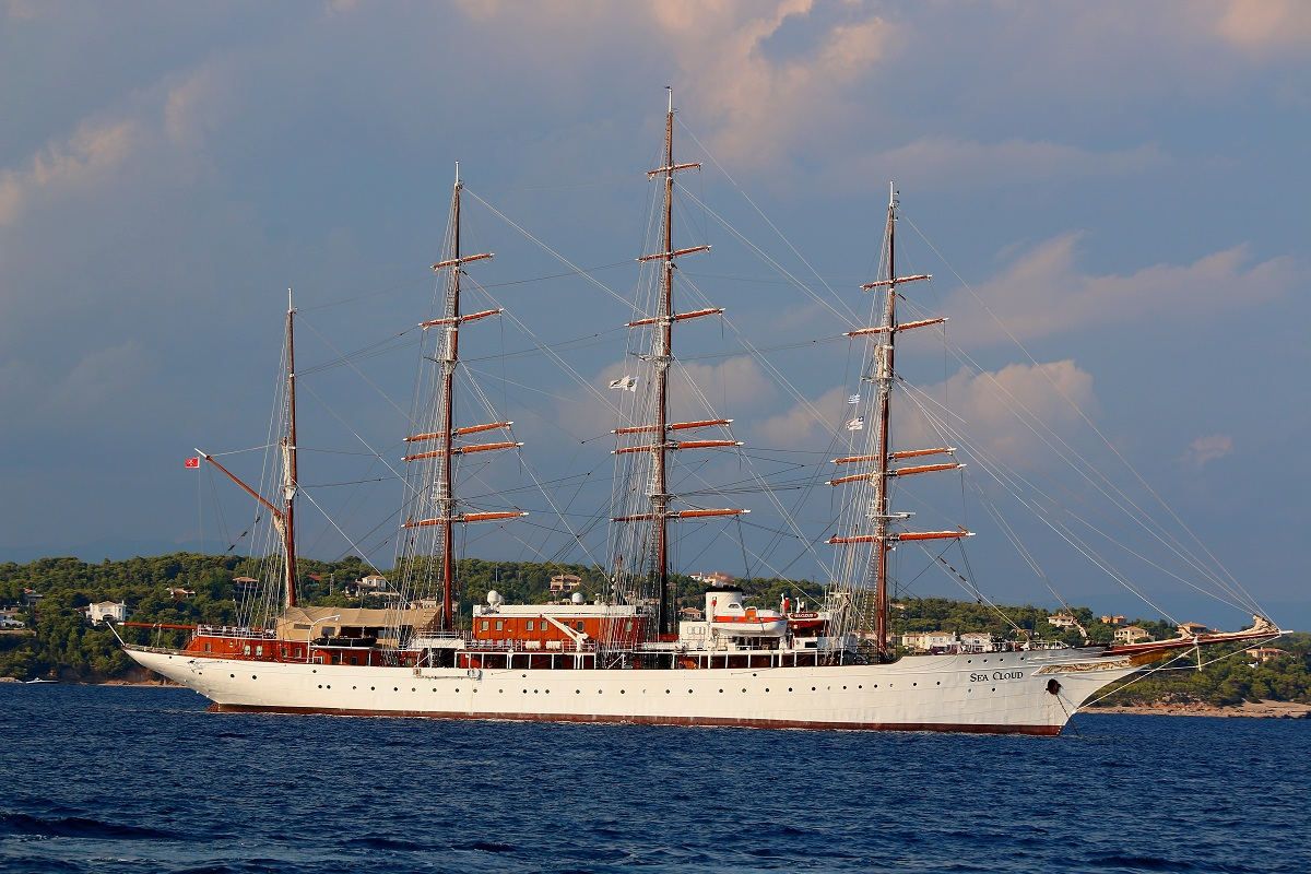 the legendary sea cloud...