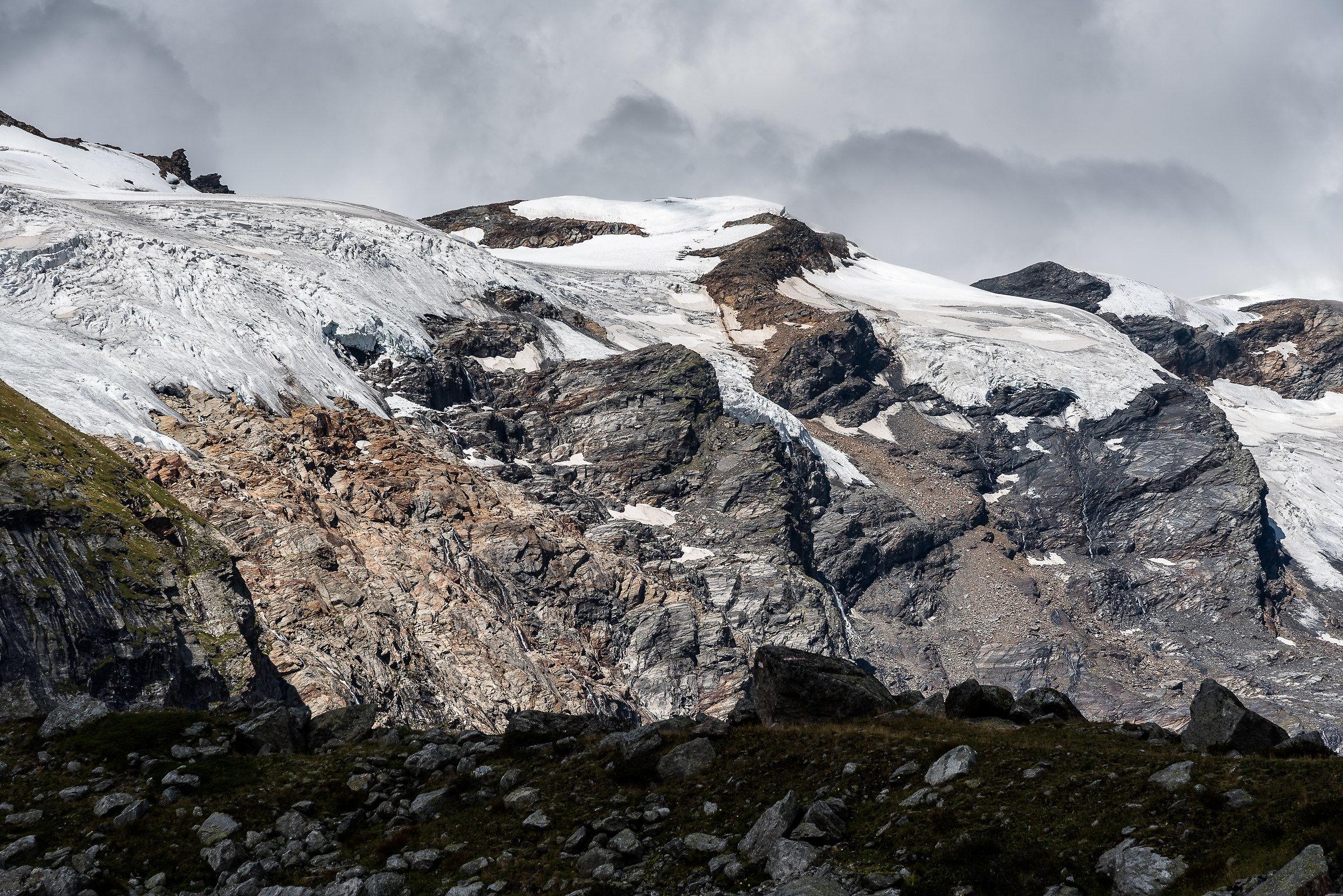Glacier Grossvediger Gruppe...