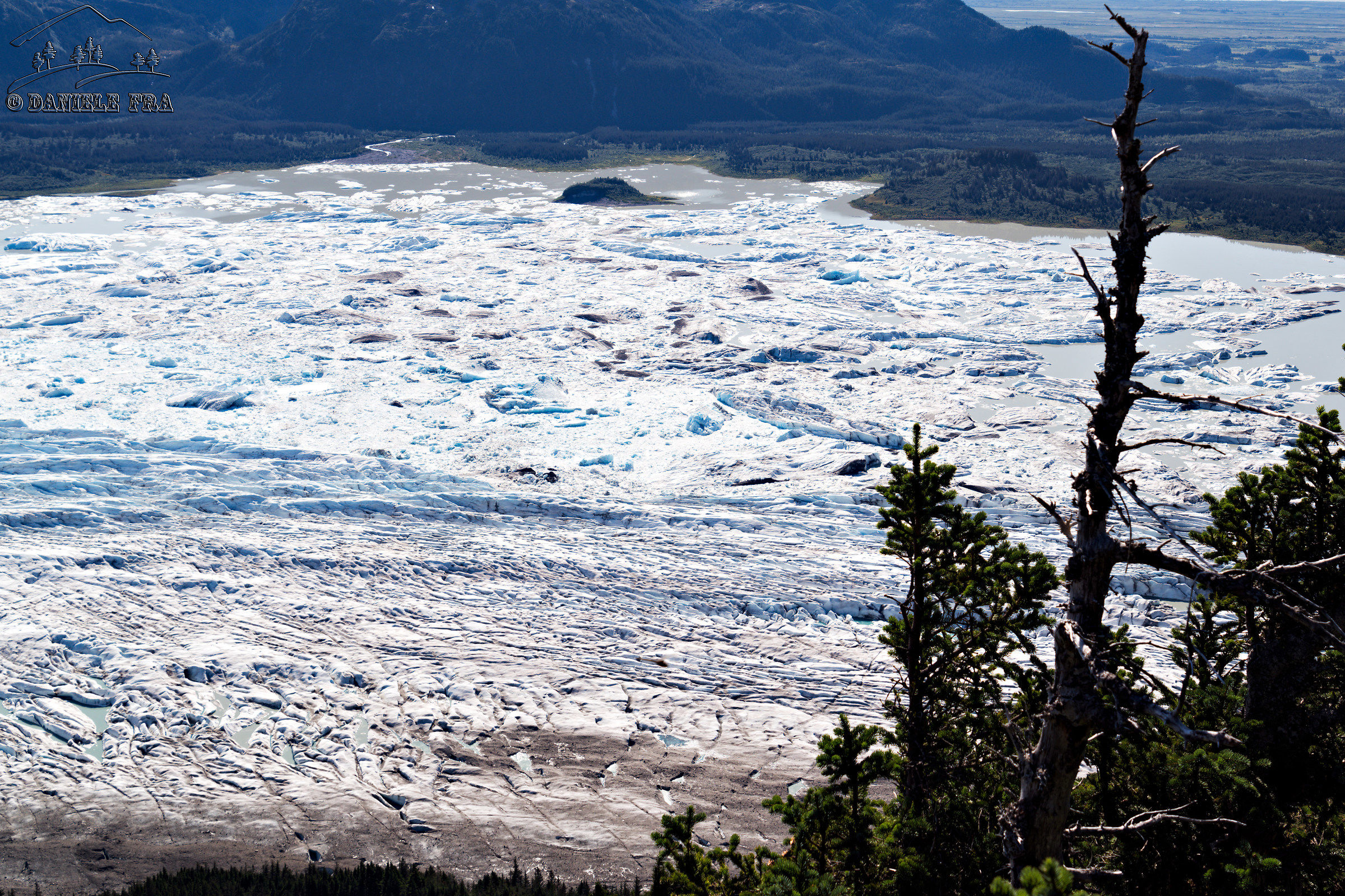 Sheridan Glacier...