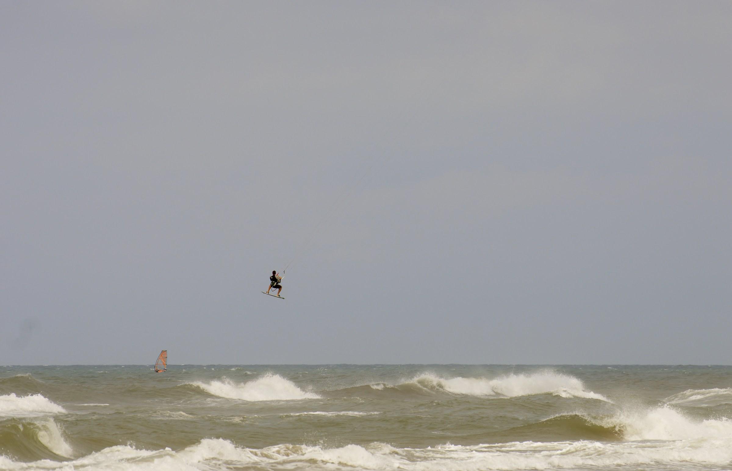 wave flight...