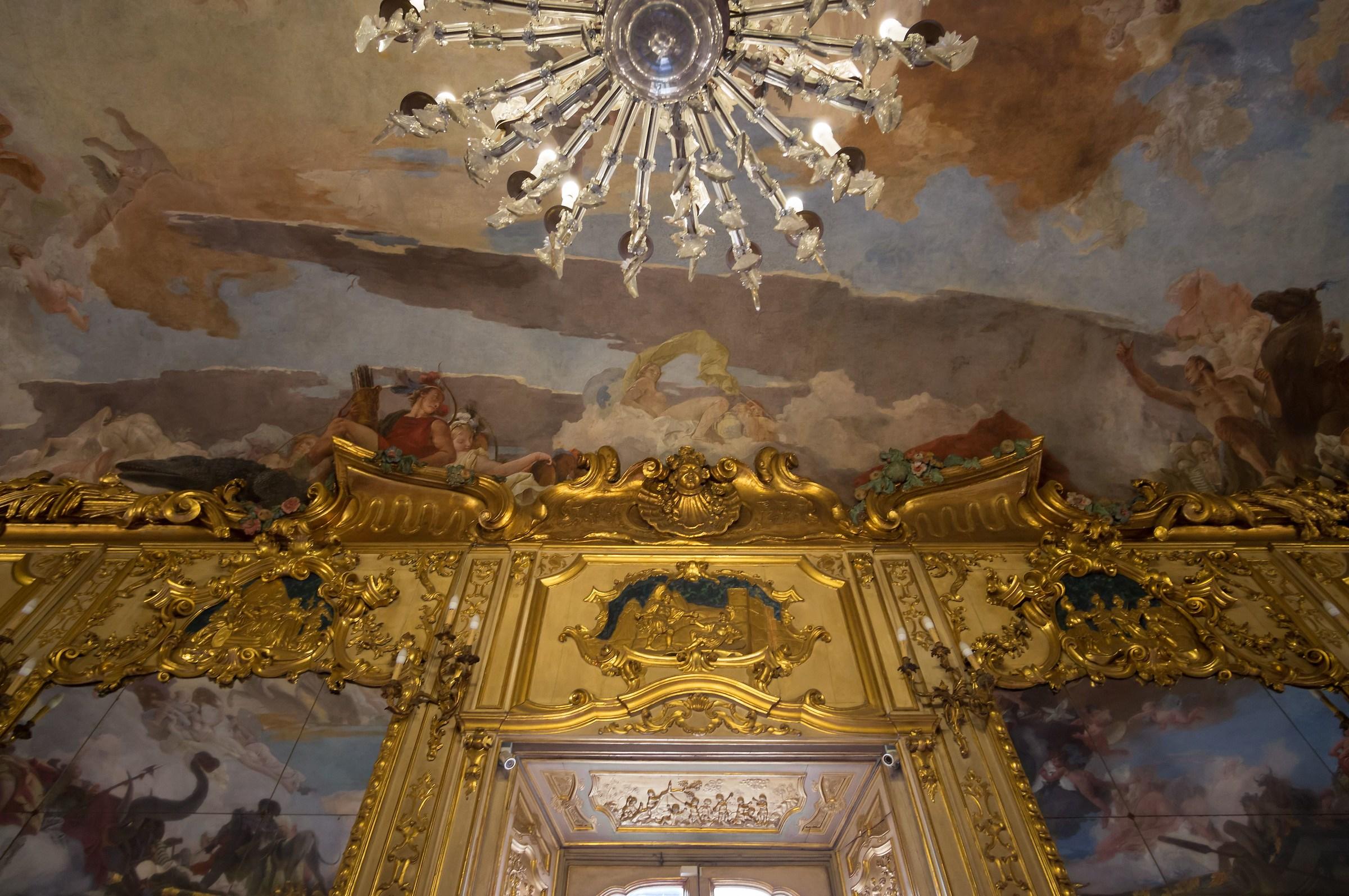 Palazzo Clerici - Galleria degli Arazzi - Affresco - 4...