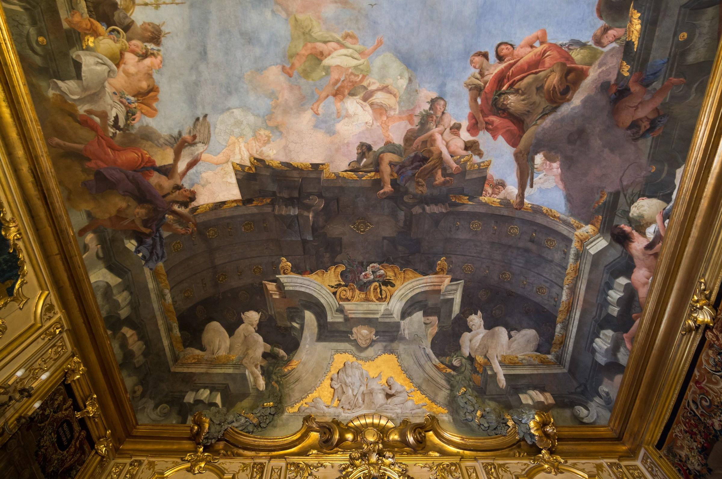 Palazzo Clerici - Galleria degli Arazzi - Affresco - 1...