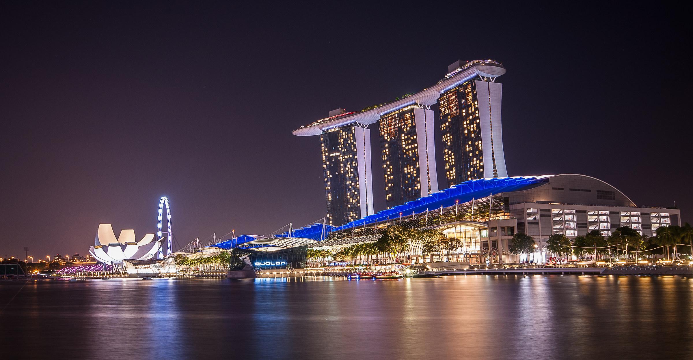 Marina Bay - Singapore...