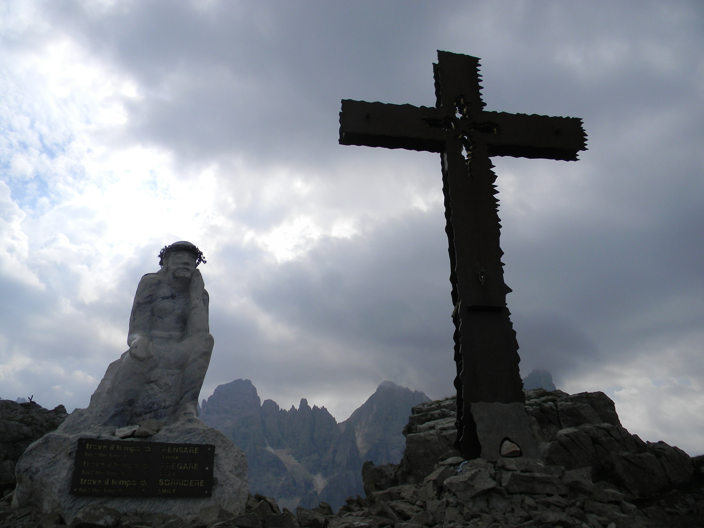 Mount castellazzo (Christ pensane)...