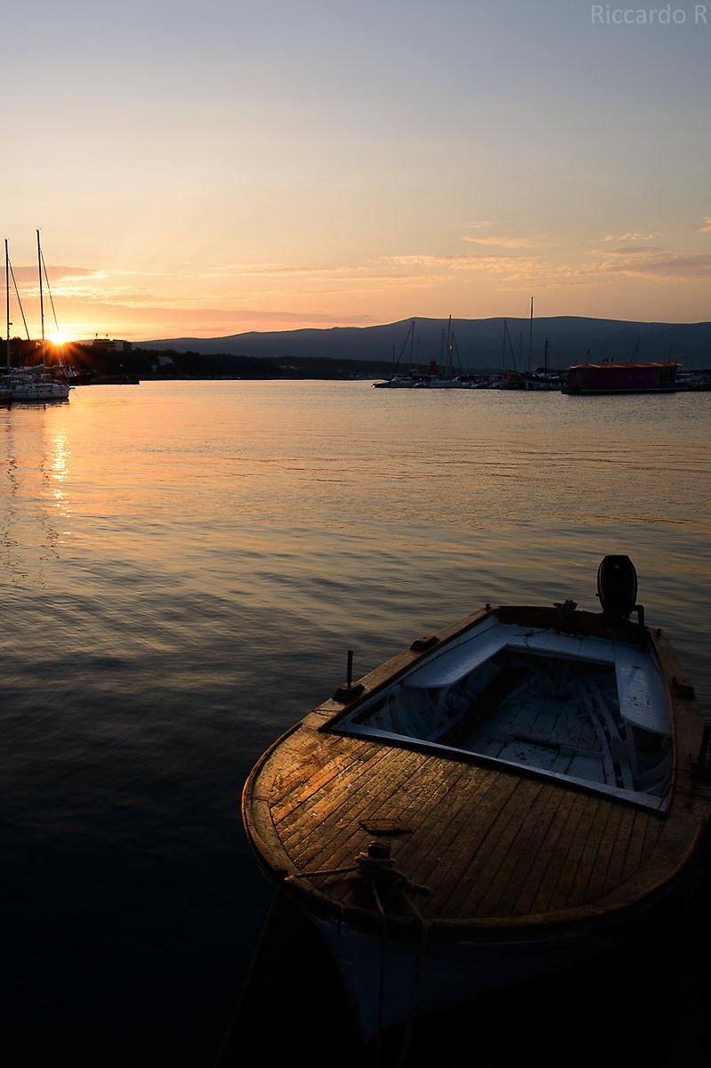 Golden boat...