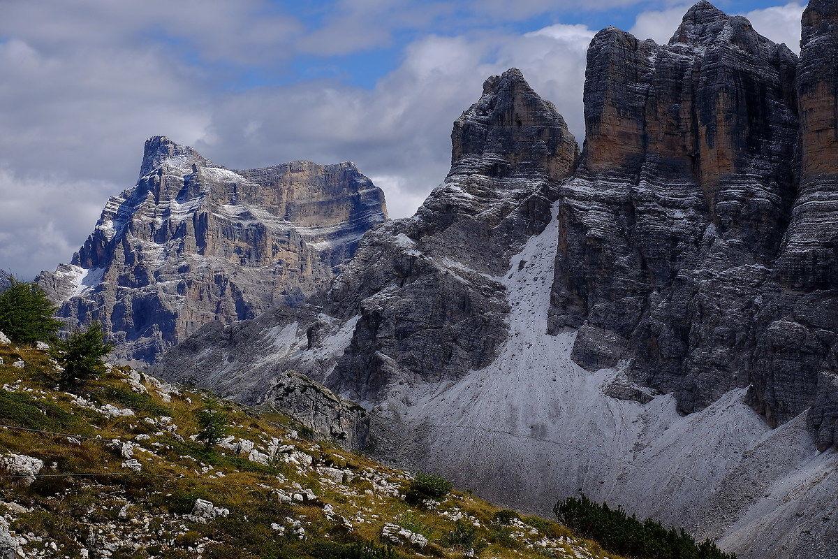 Monte Pelmo and Civetta...
