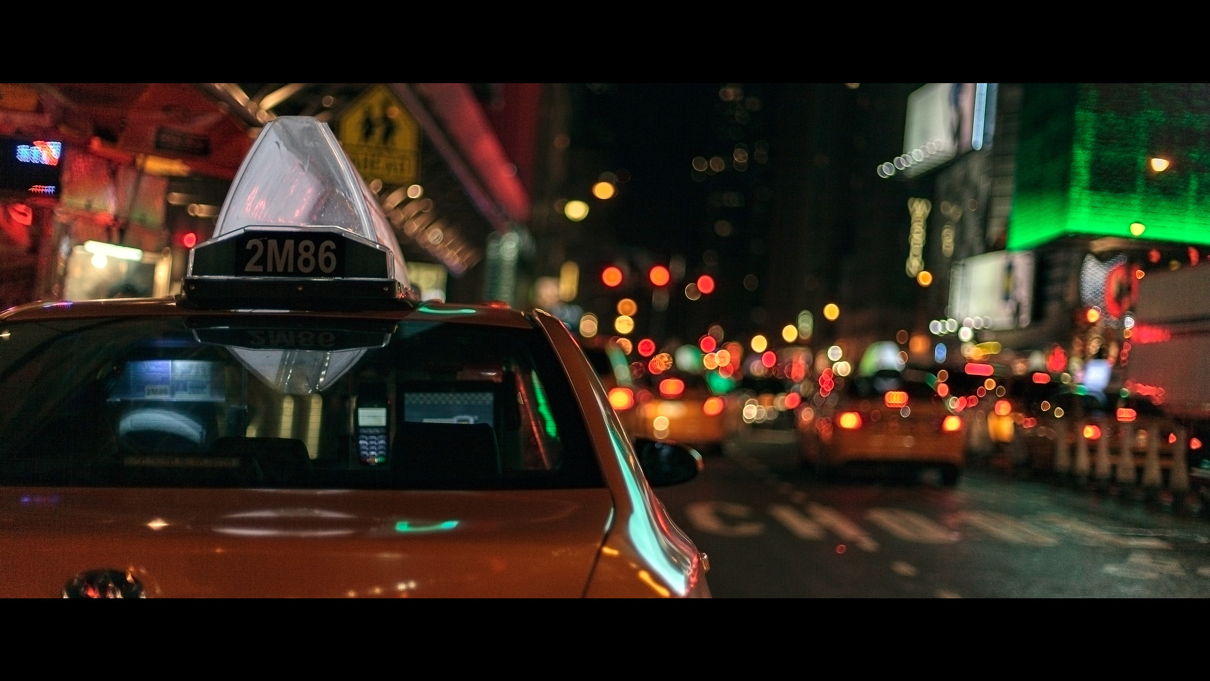 Yellow Cabs...