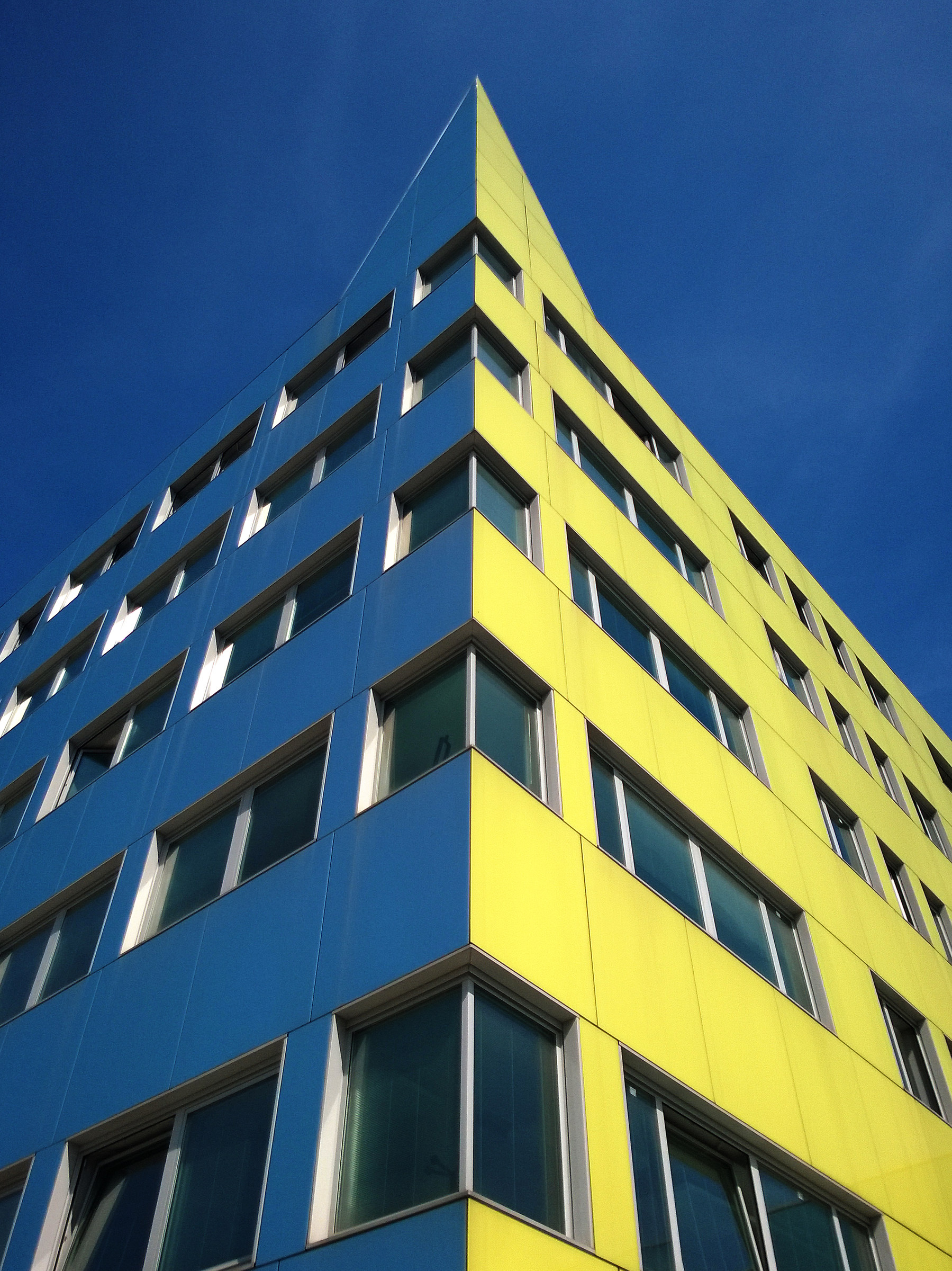 Milan from below - Color...