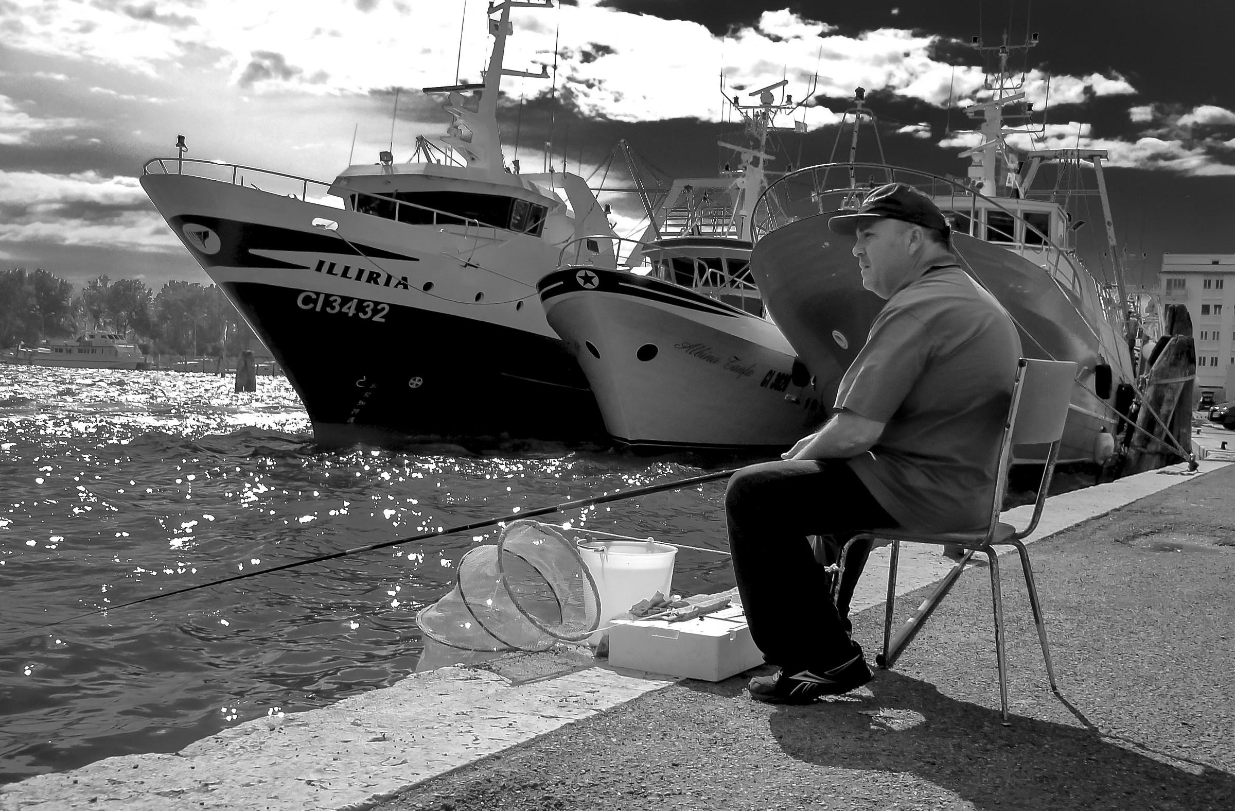 Fisherman in Chioggia...