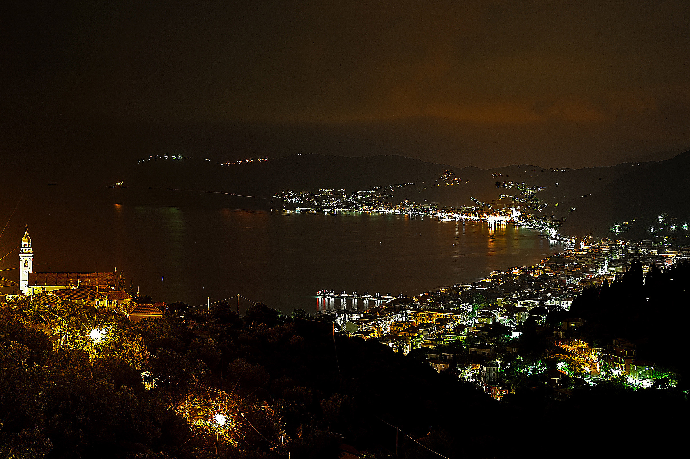 Night in Alassio...