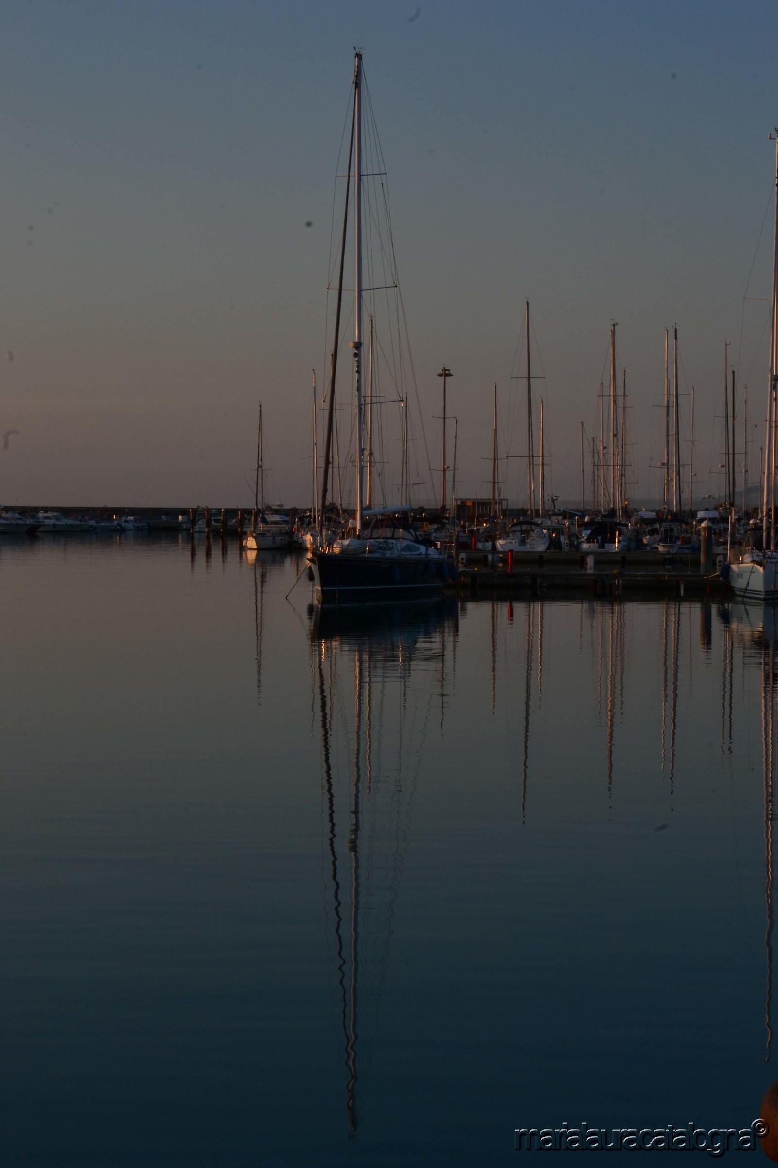 Reflections at dawn...