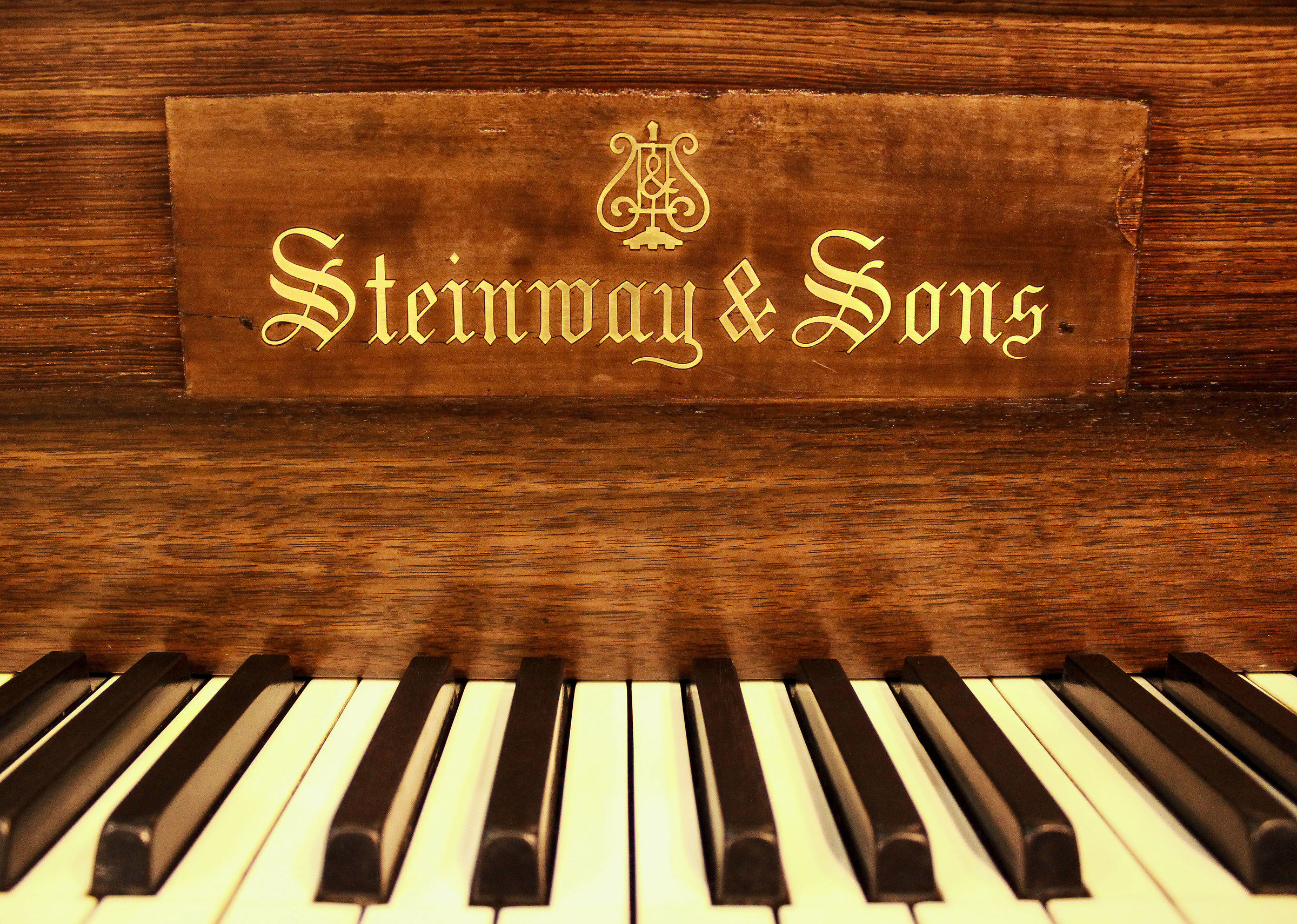 Steinway and Sons...
