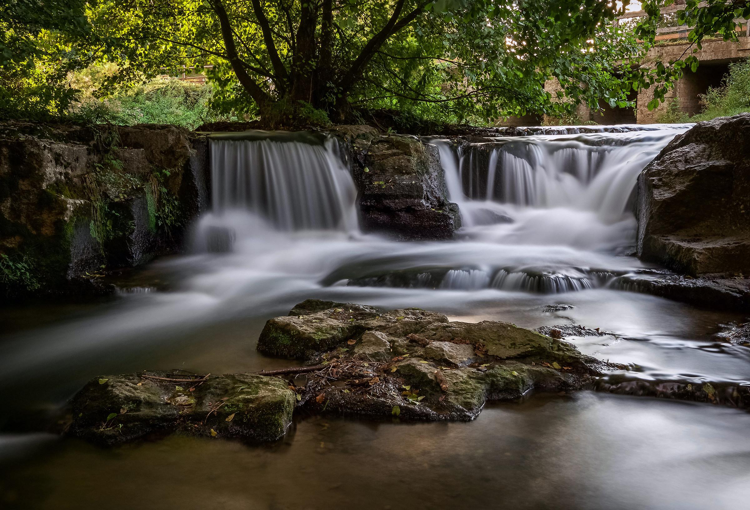waterfalls of Monte Gelato-lle...