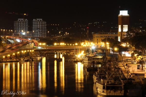 Panoramica di pescara e comune dal ponte juzaphoto for Mercatino dell usato pescara