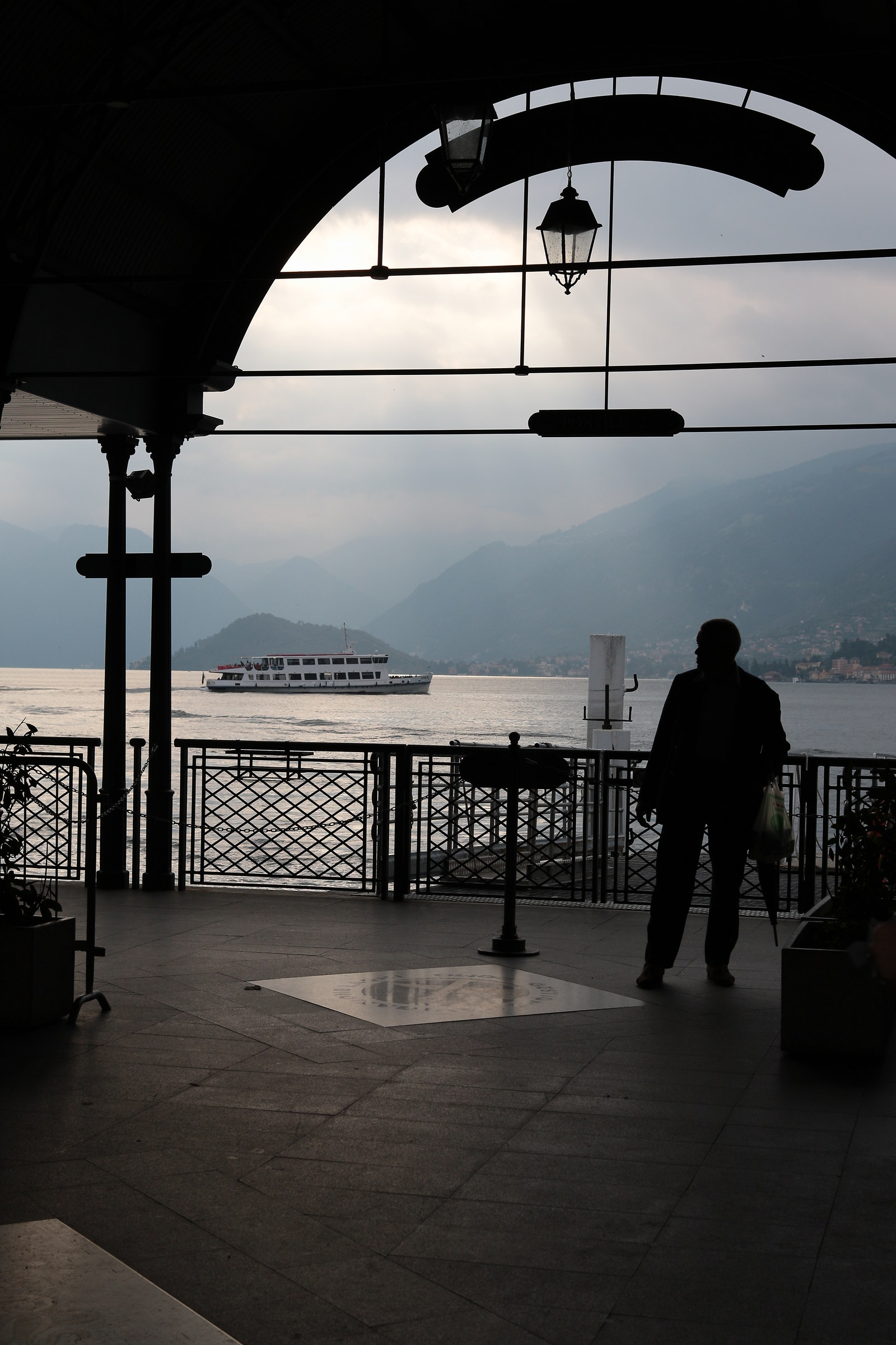 Light and shadows in Bellagio...