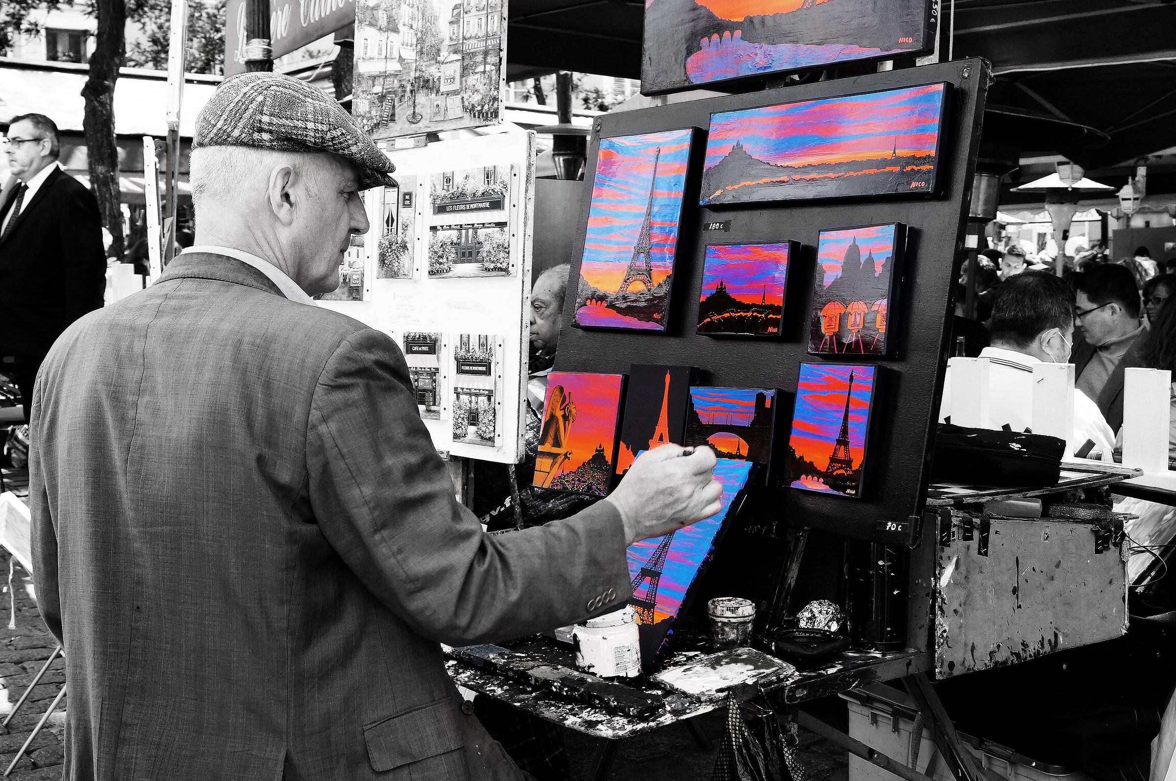 Artist In Montmartre...