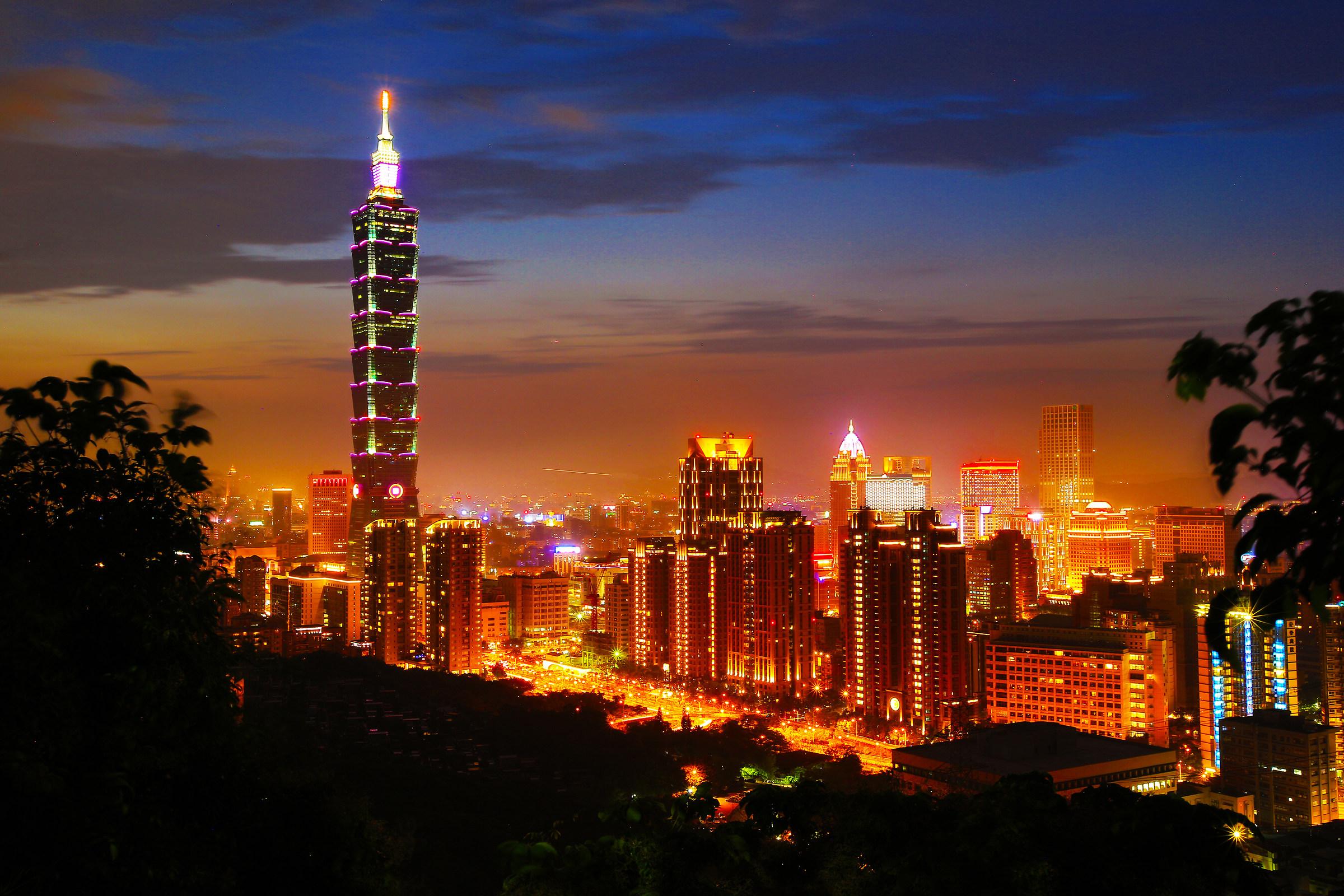 Taipei elephant mount...