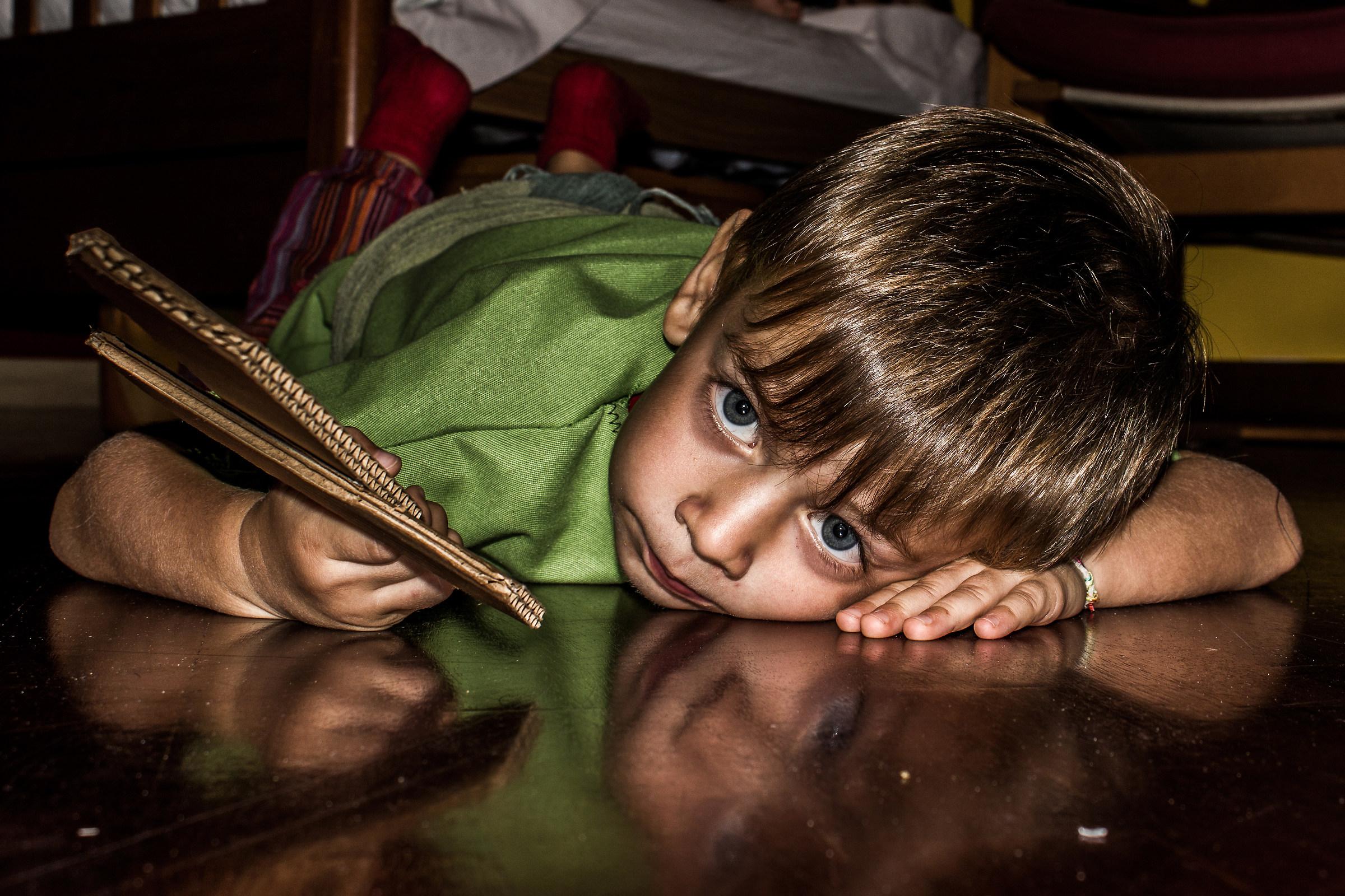 My little Peter Pan...