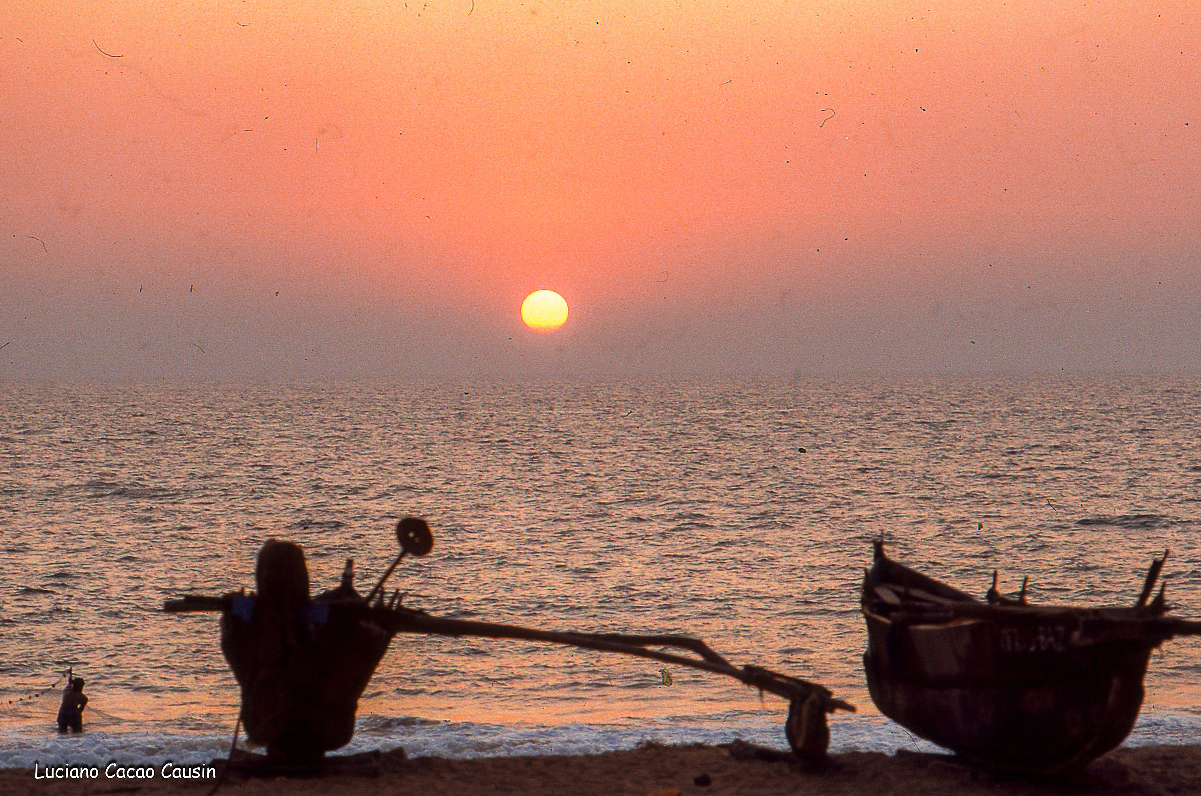 Sunset in Goa...