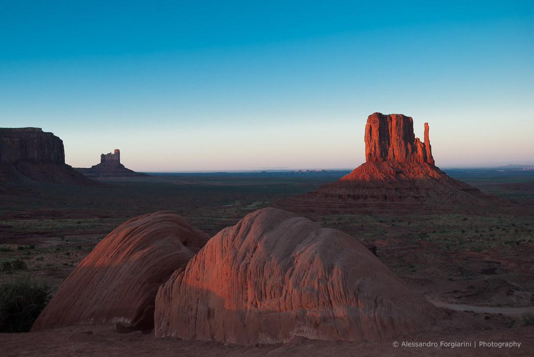 Monument Valley - Sunset...