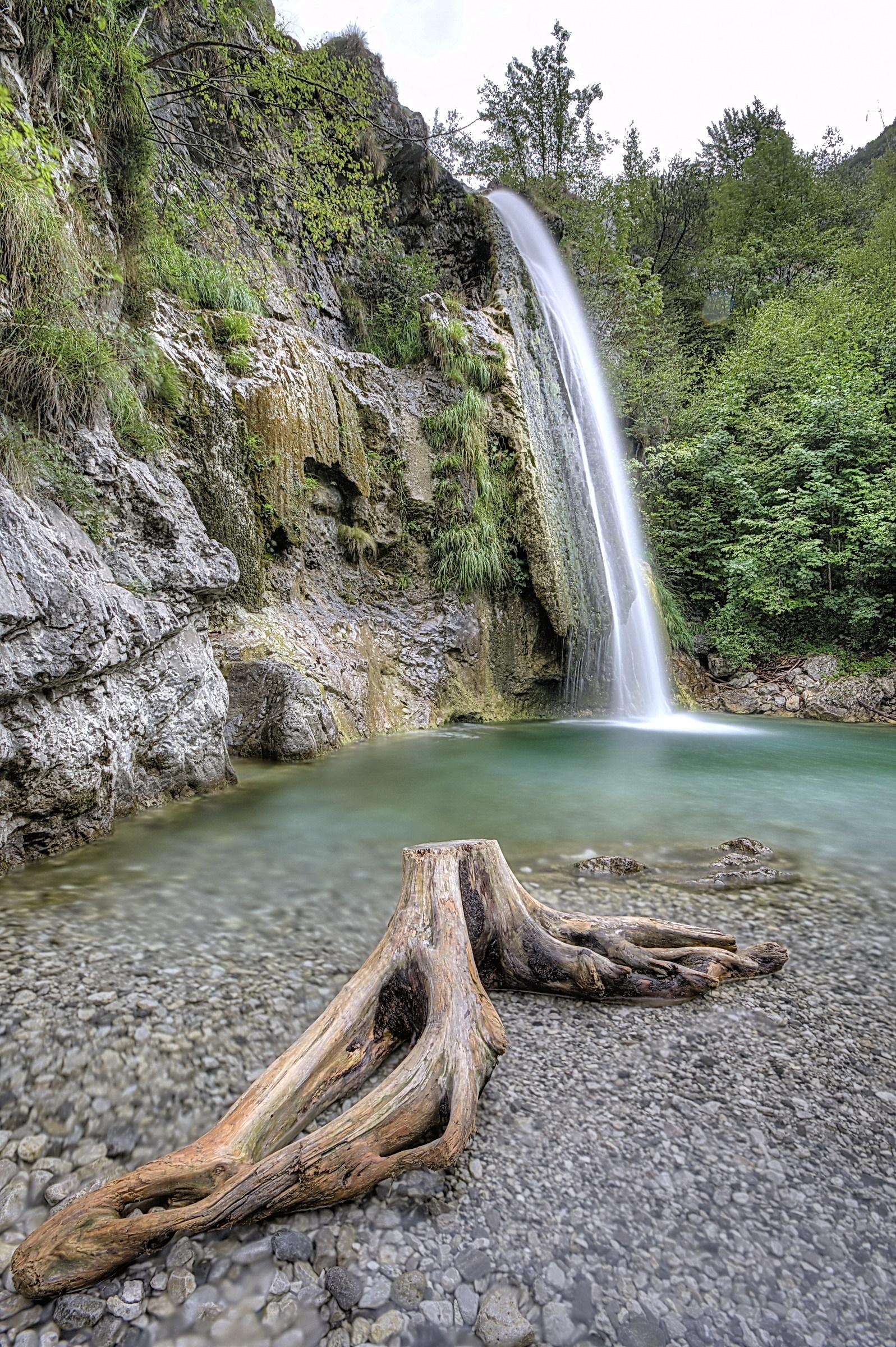 cascata torrente Palvico...