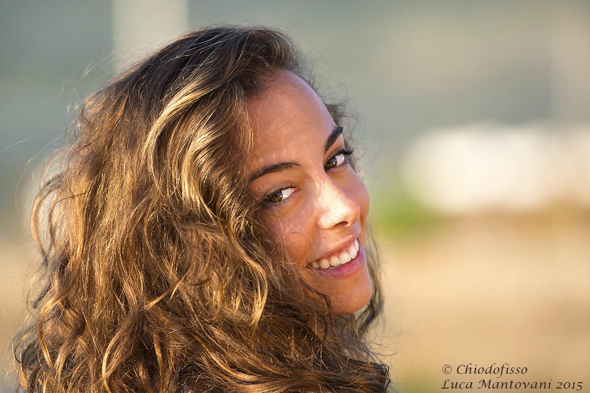 The smile of Julia...