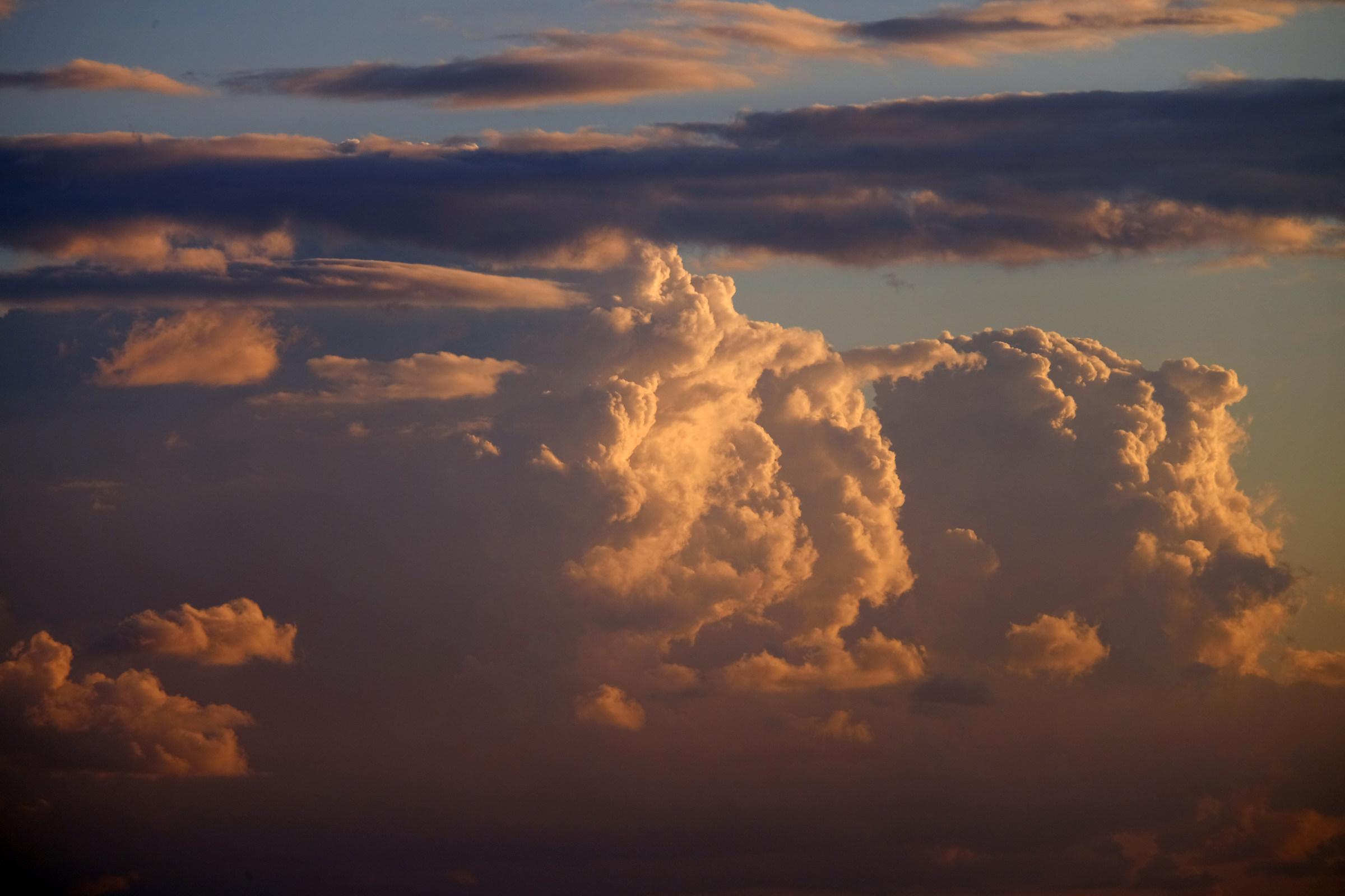 Cumulonimbus...