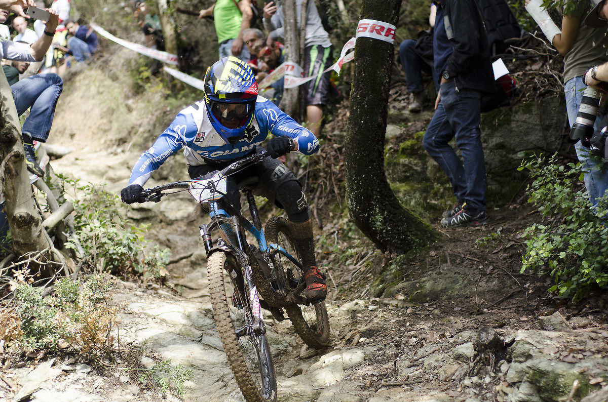 Enduro World Series 2015, Barelli in SS5 Finale Ligure...