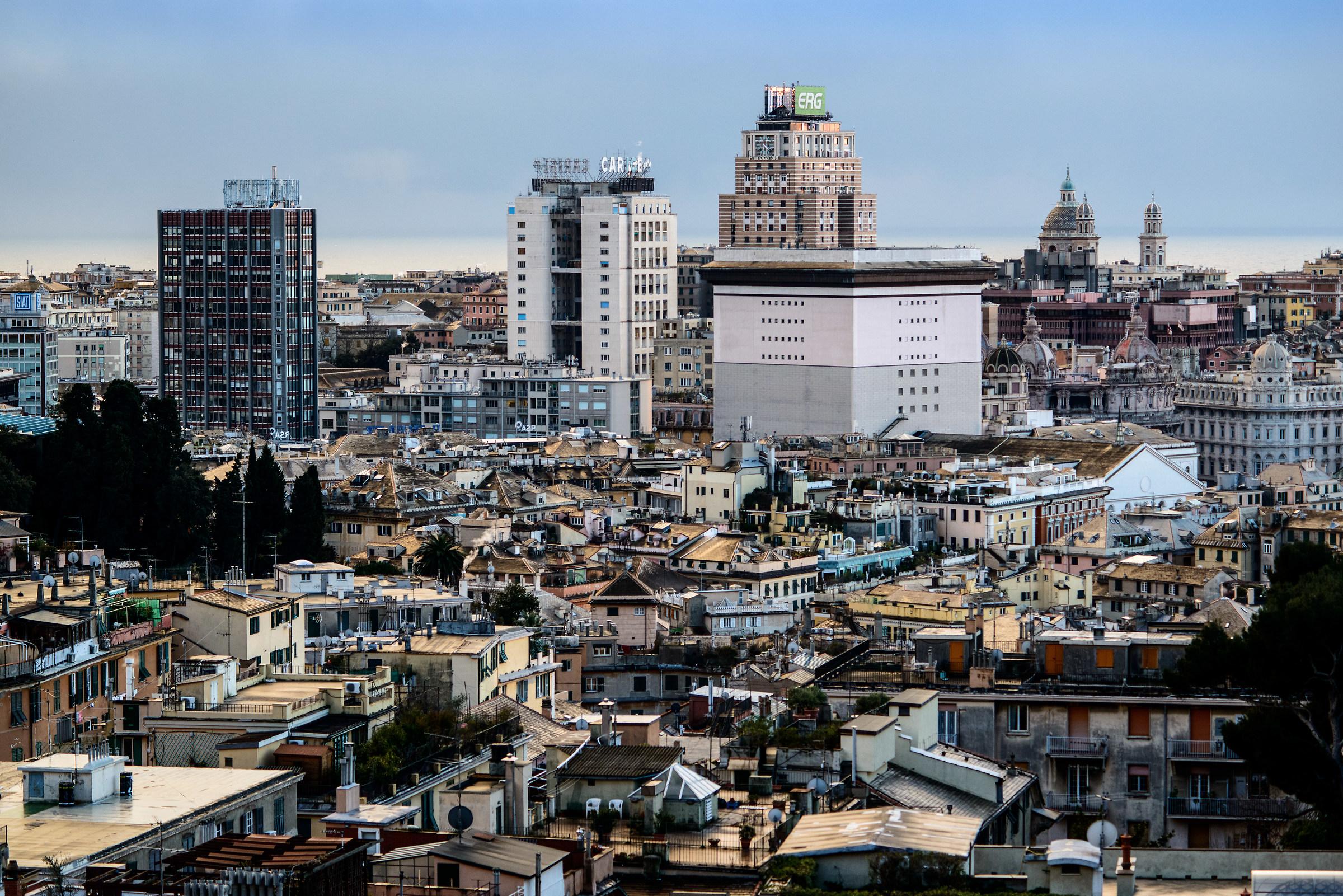 Panorama Genova...