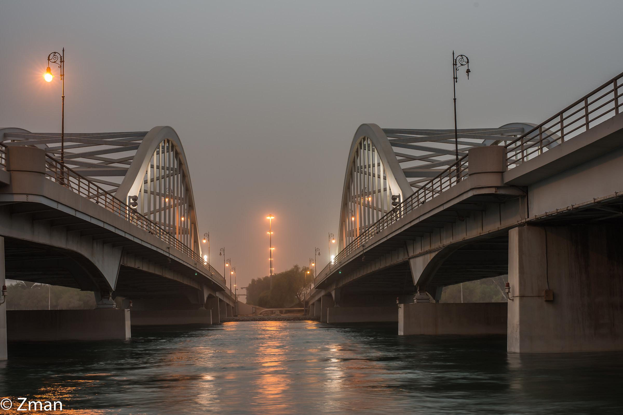 Al Maqtaa Bridge...
