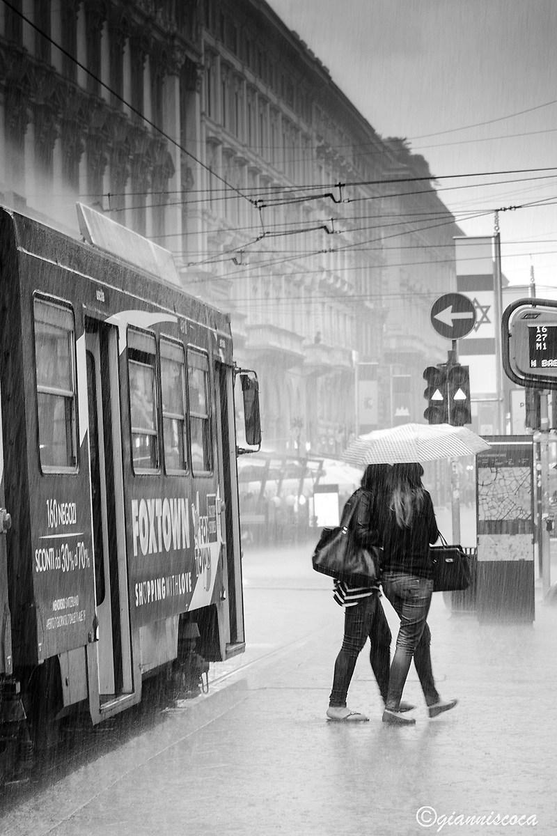 City Life in the rain...