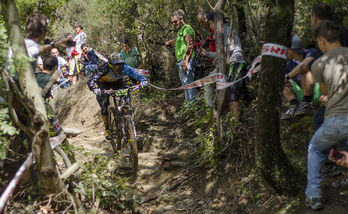Enduro World Series in 2015, Ludo May SS5 in Finale Ligure...