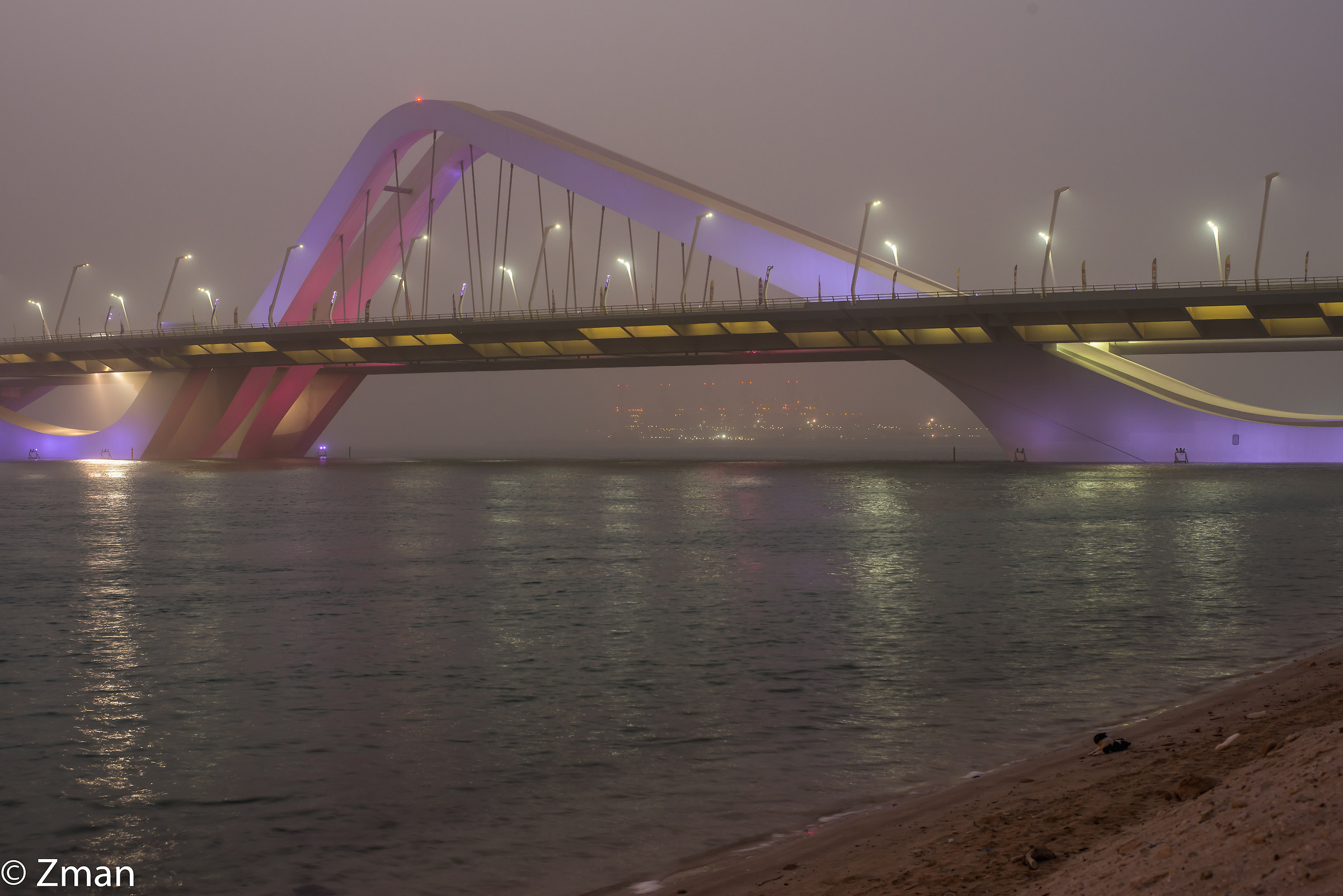 Shk. Zayed Bridge...