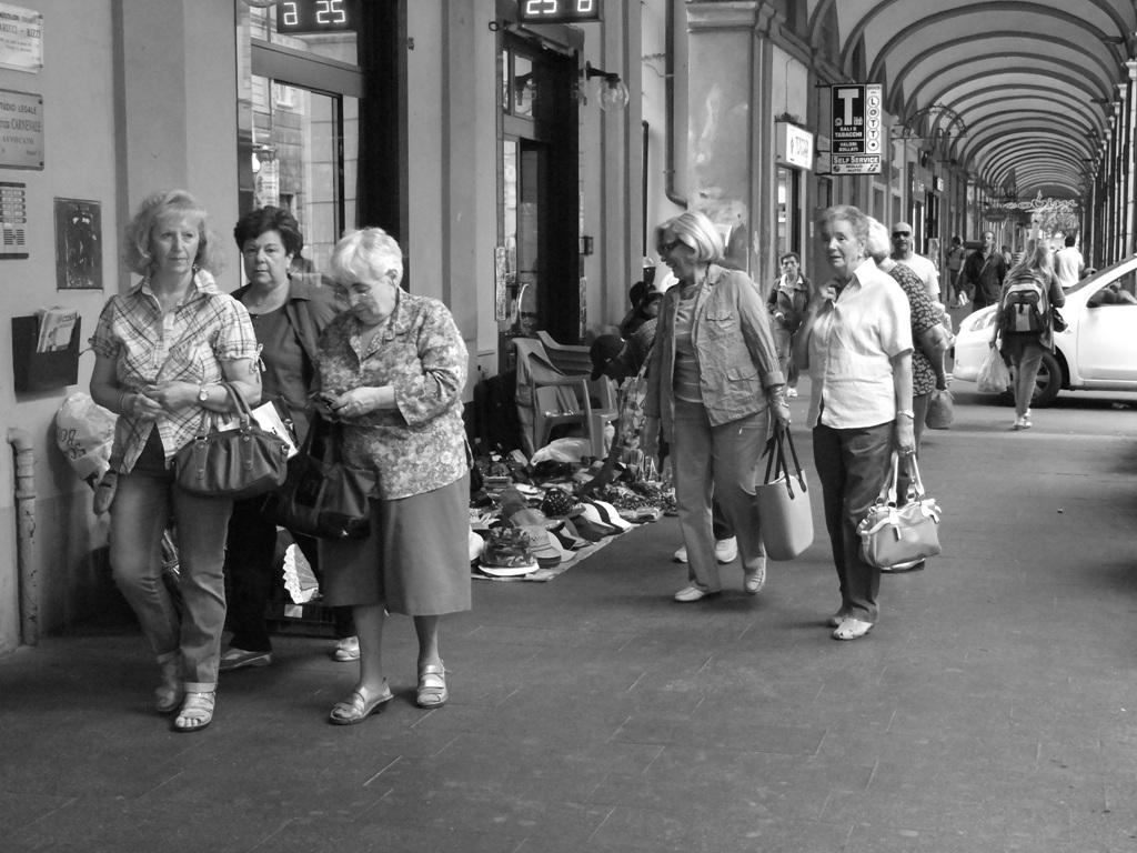 market under the arcades of ge - sestri ponenete...
