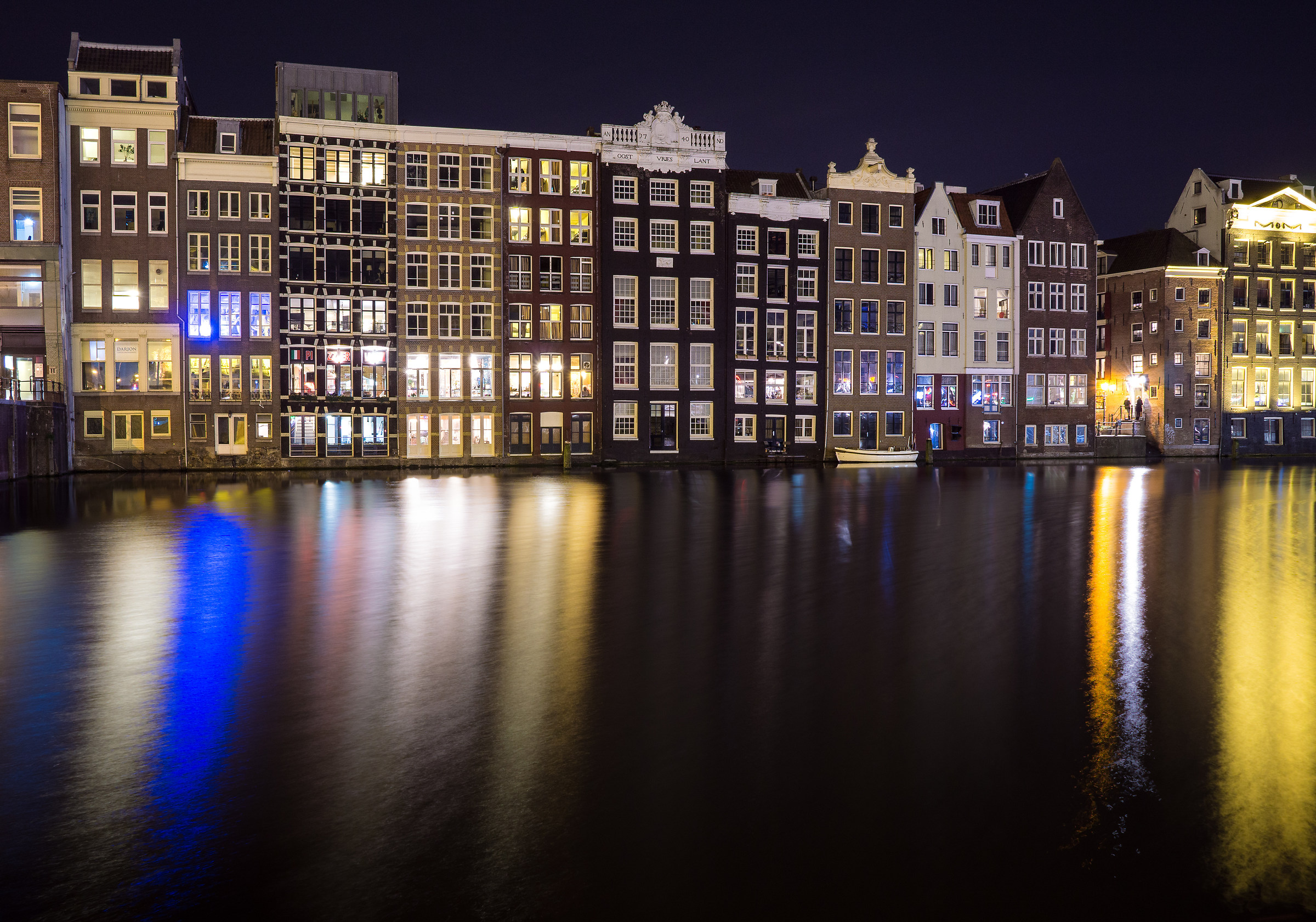canal in Amsterdam...