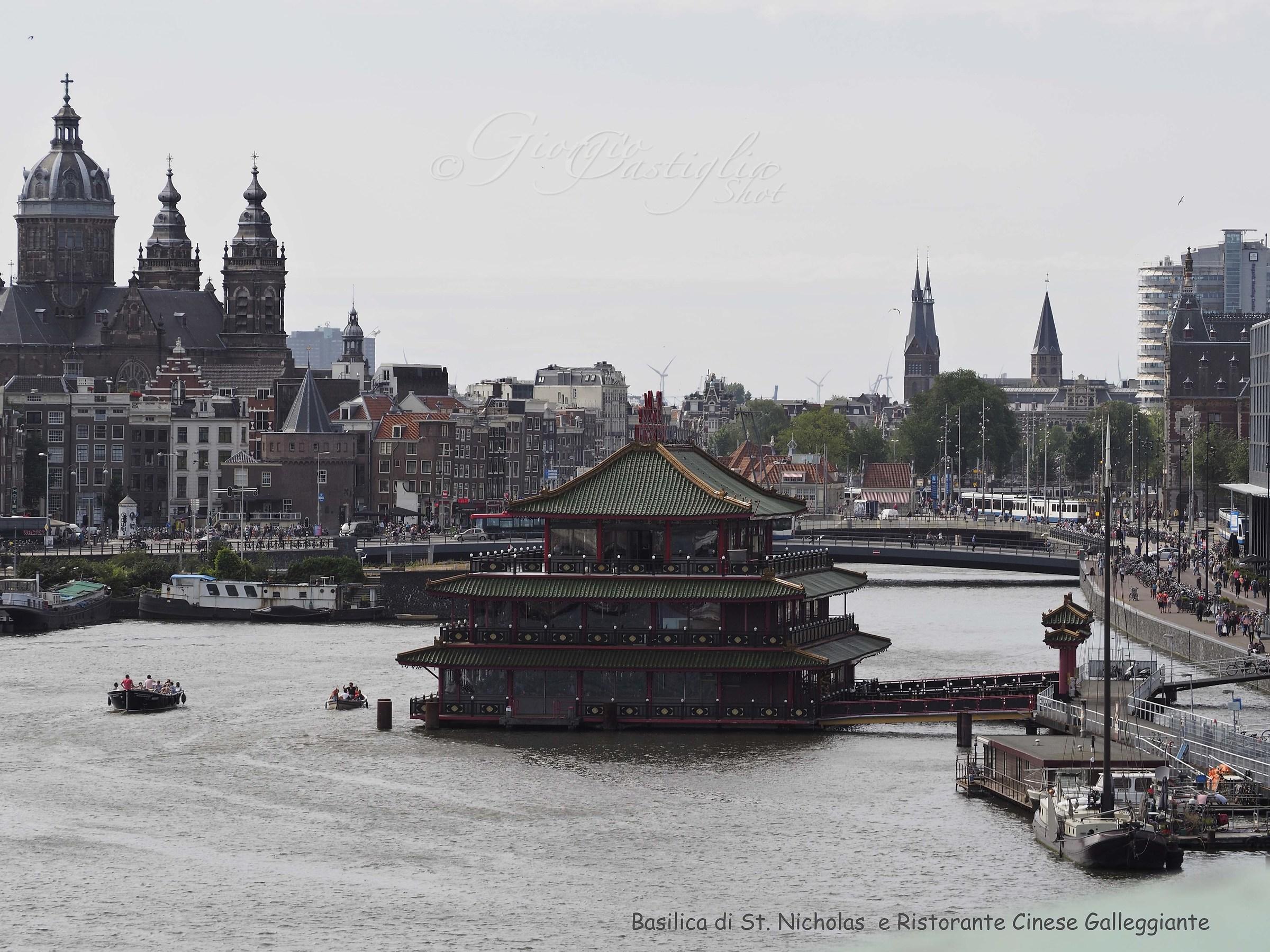 Amsterdam view from Nemo...