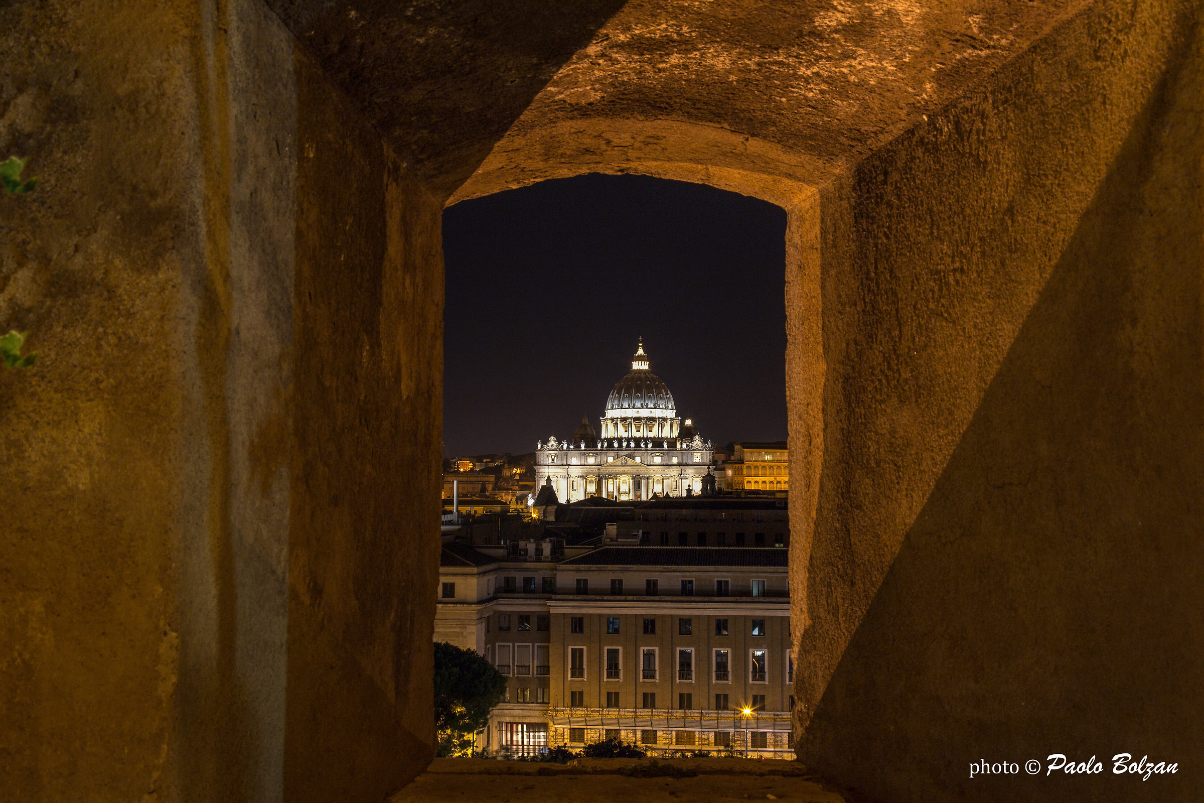 From the window of Castel Sant'Angelo...
