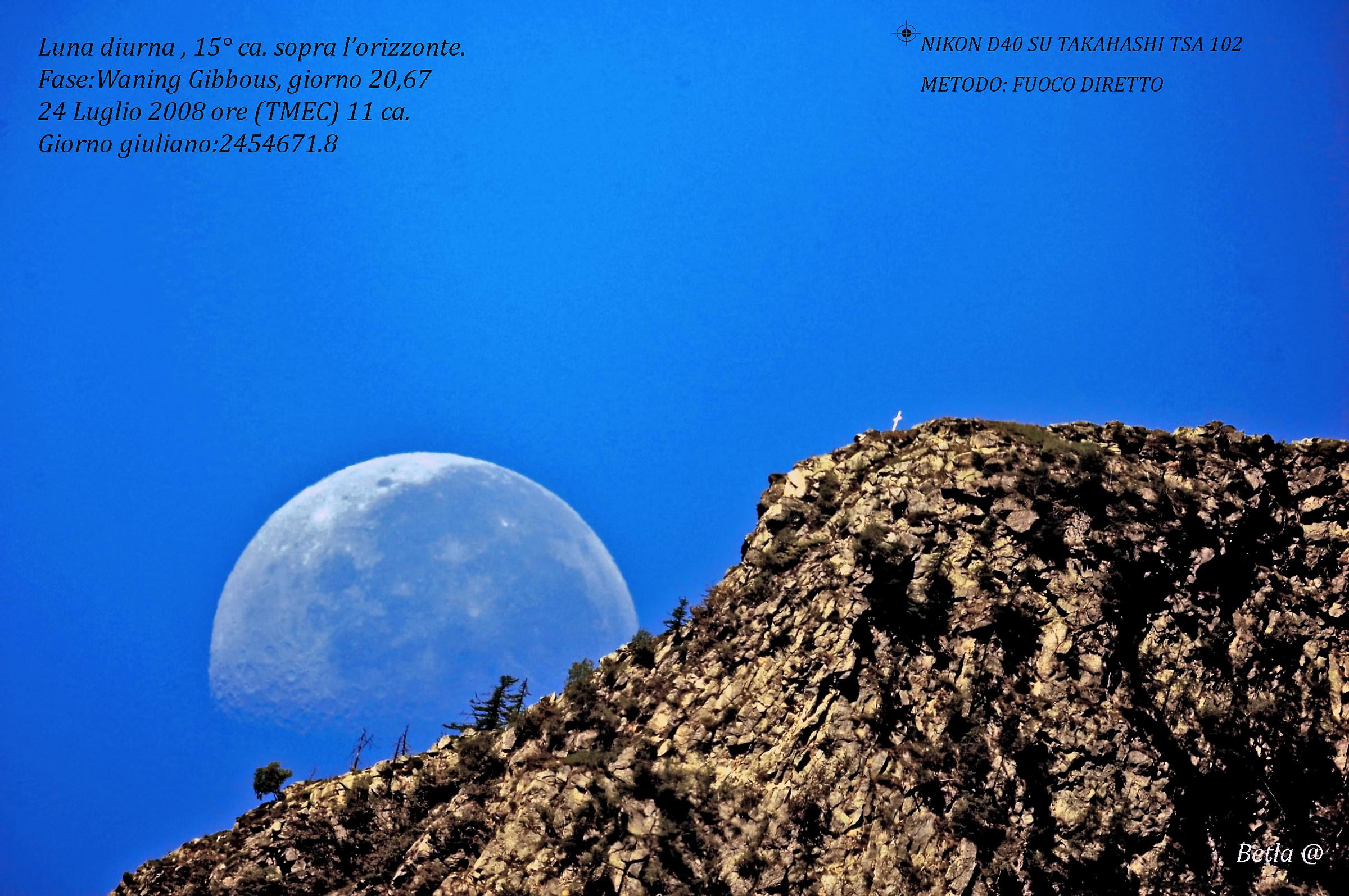 Luna diurna...