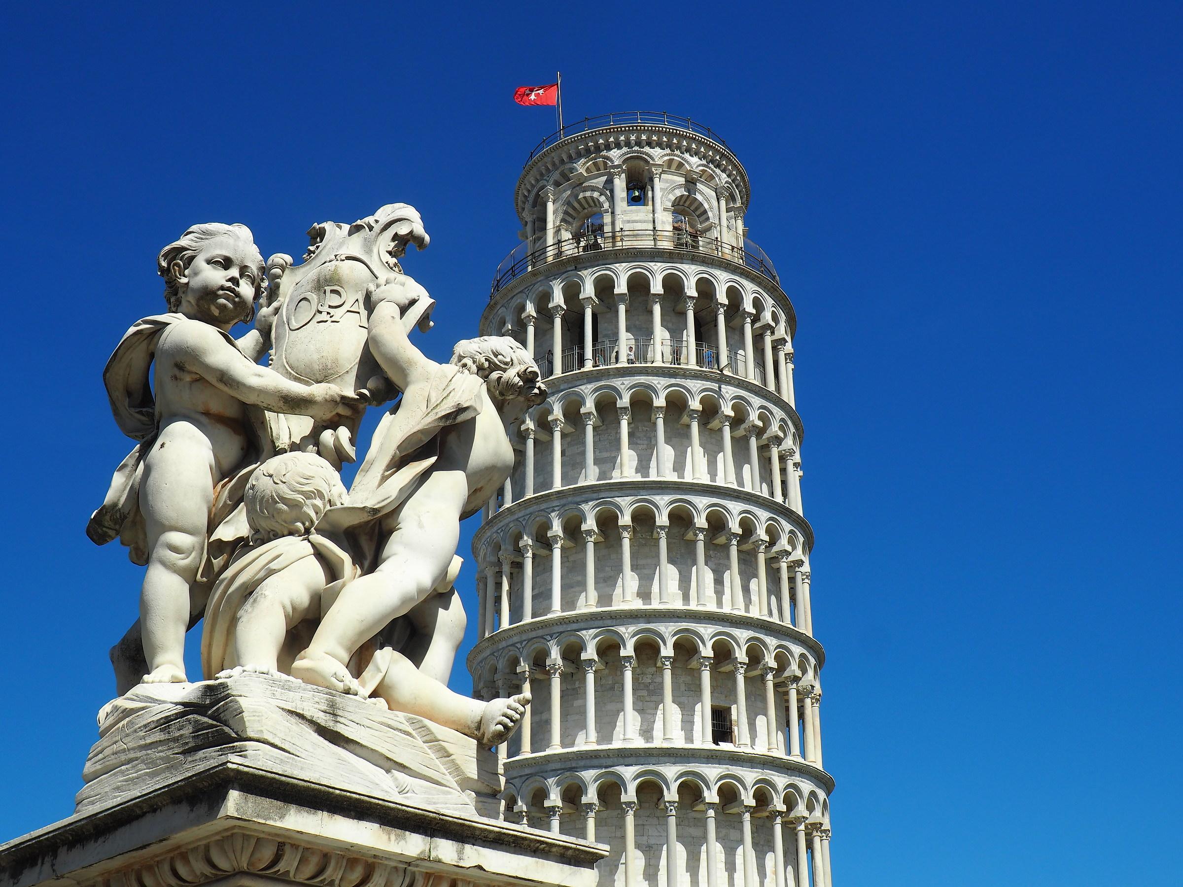 Torre pendente... - Pisa...