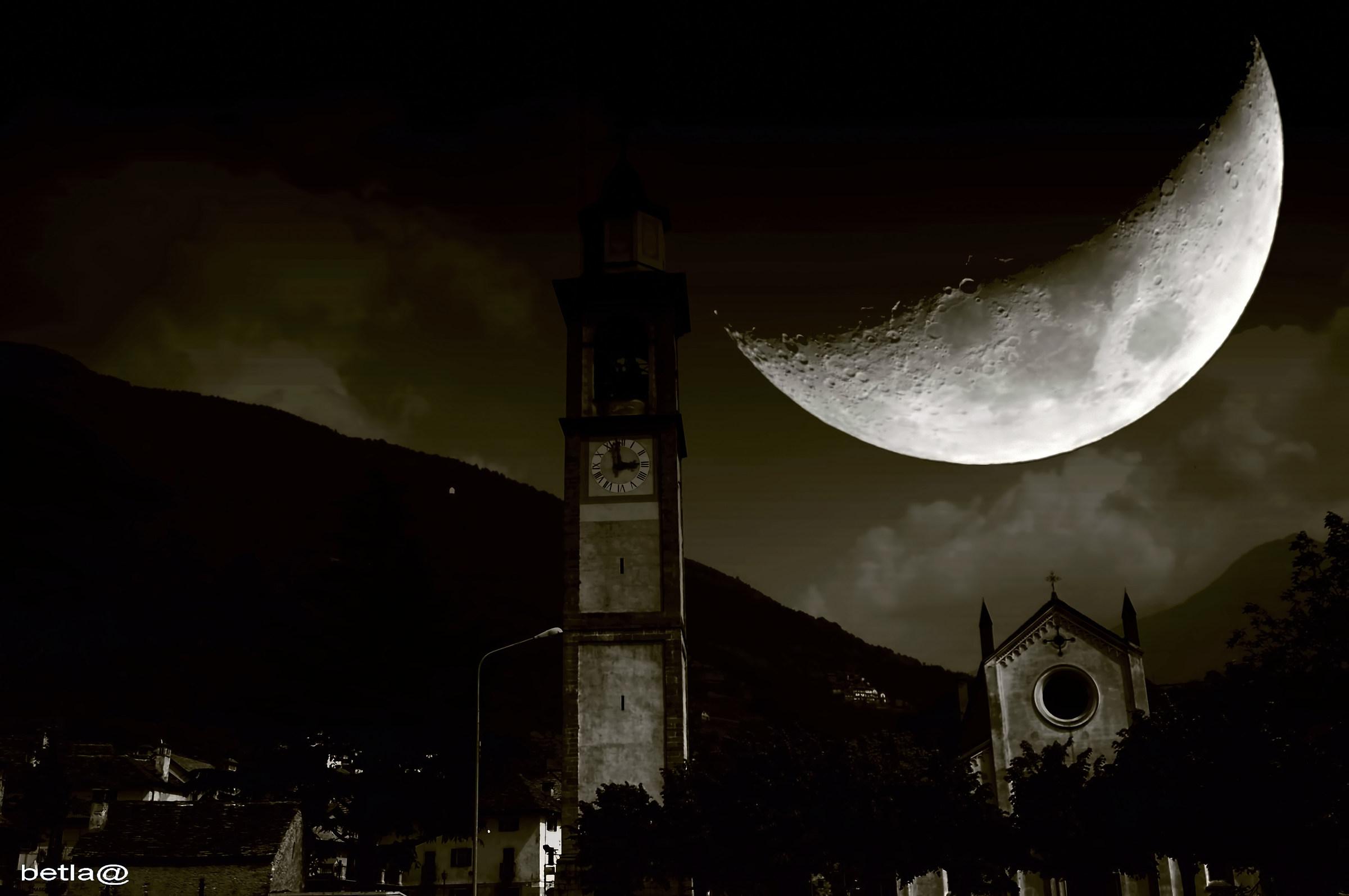 Quando la luna era più vicina........