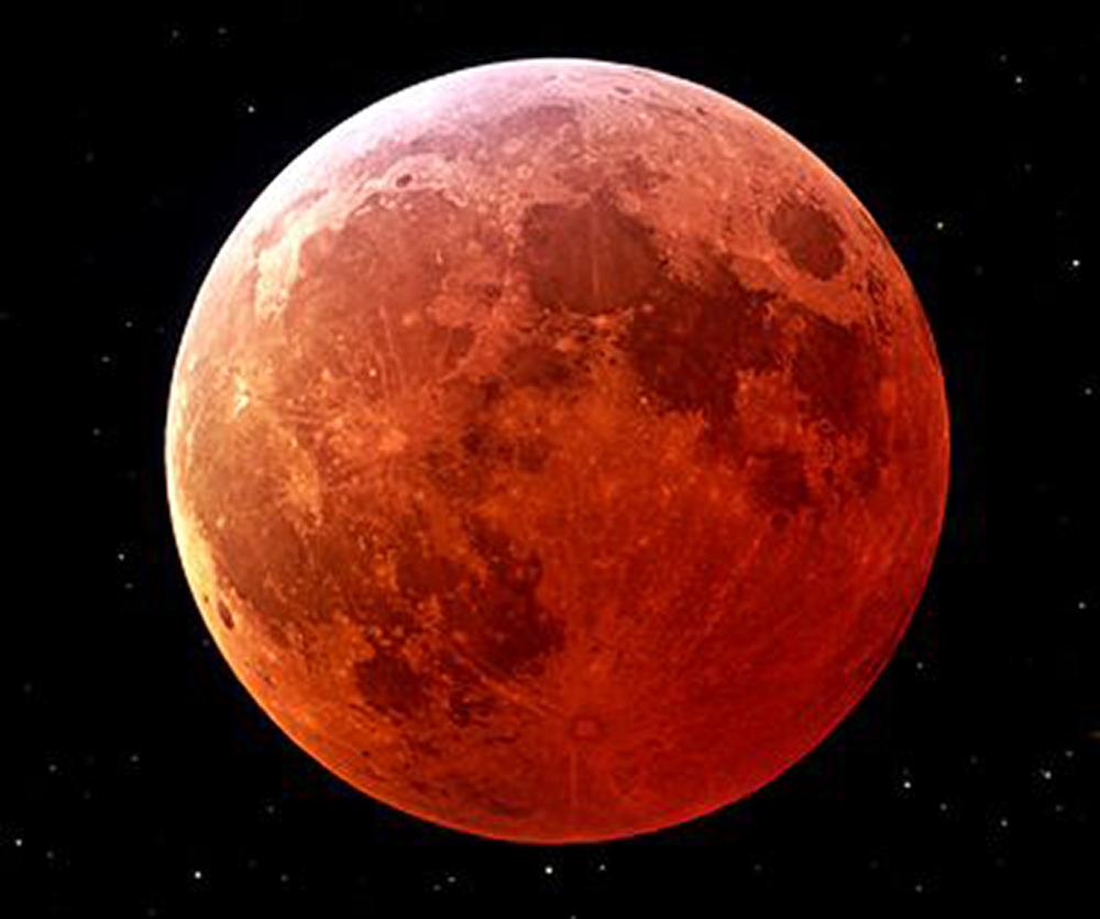 Eclissi di luna...