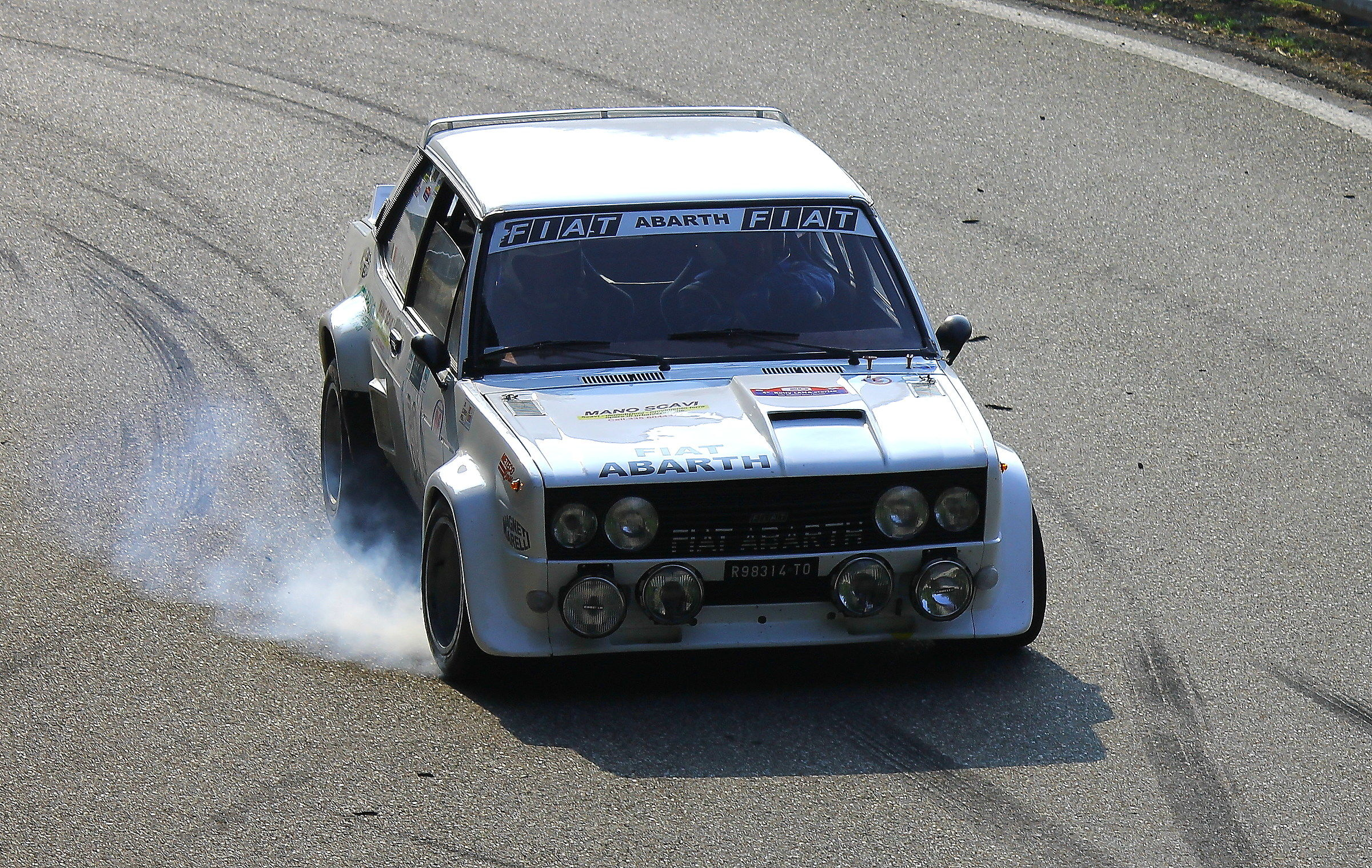 Fiat 131 Abarth - Detached...