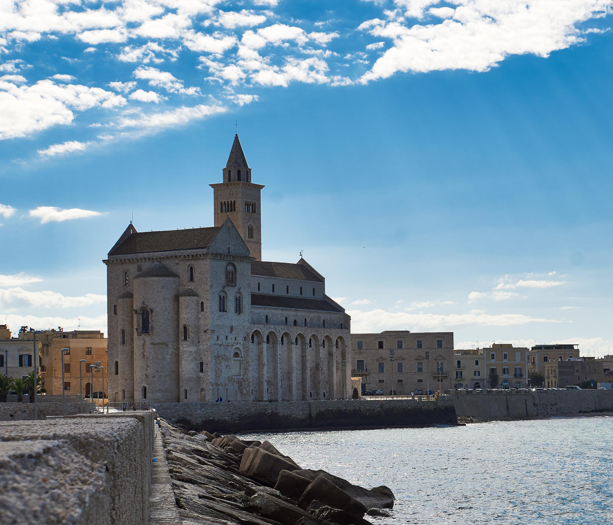 Trani Cathedral sea...