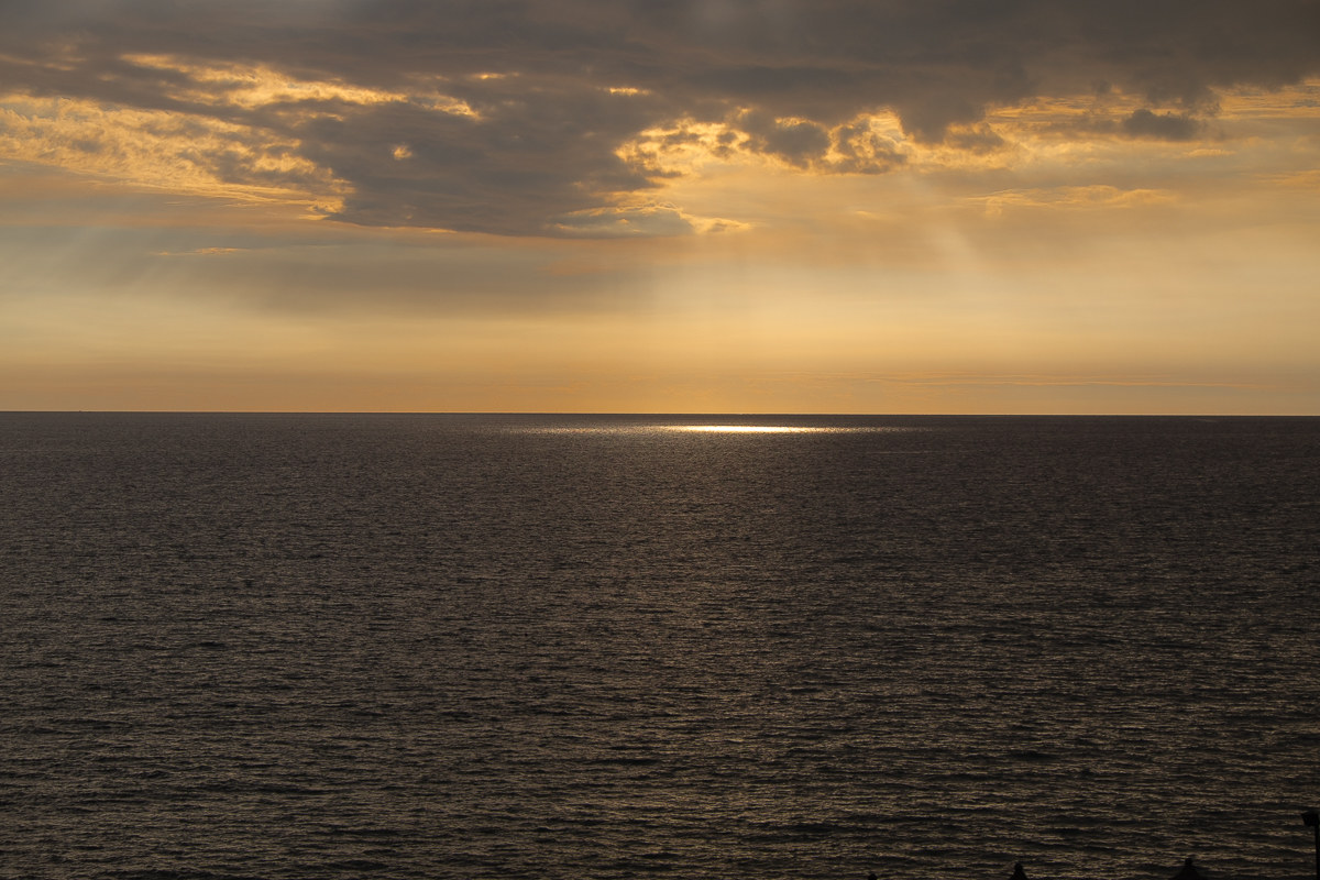 light in the sea...