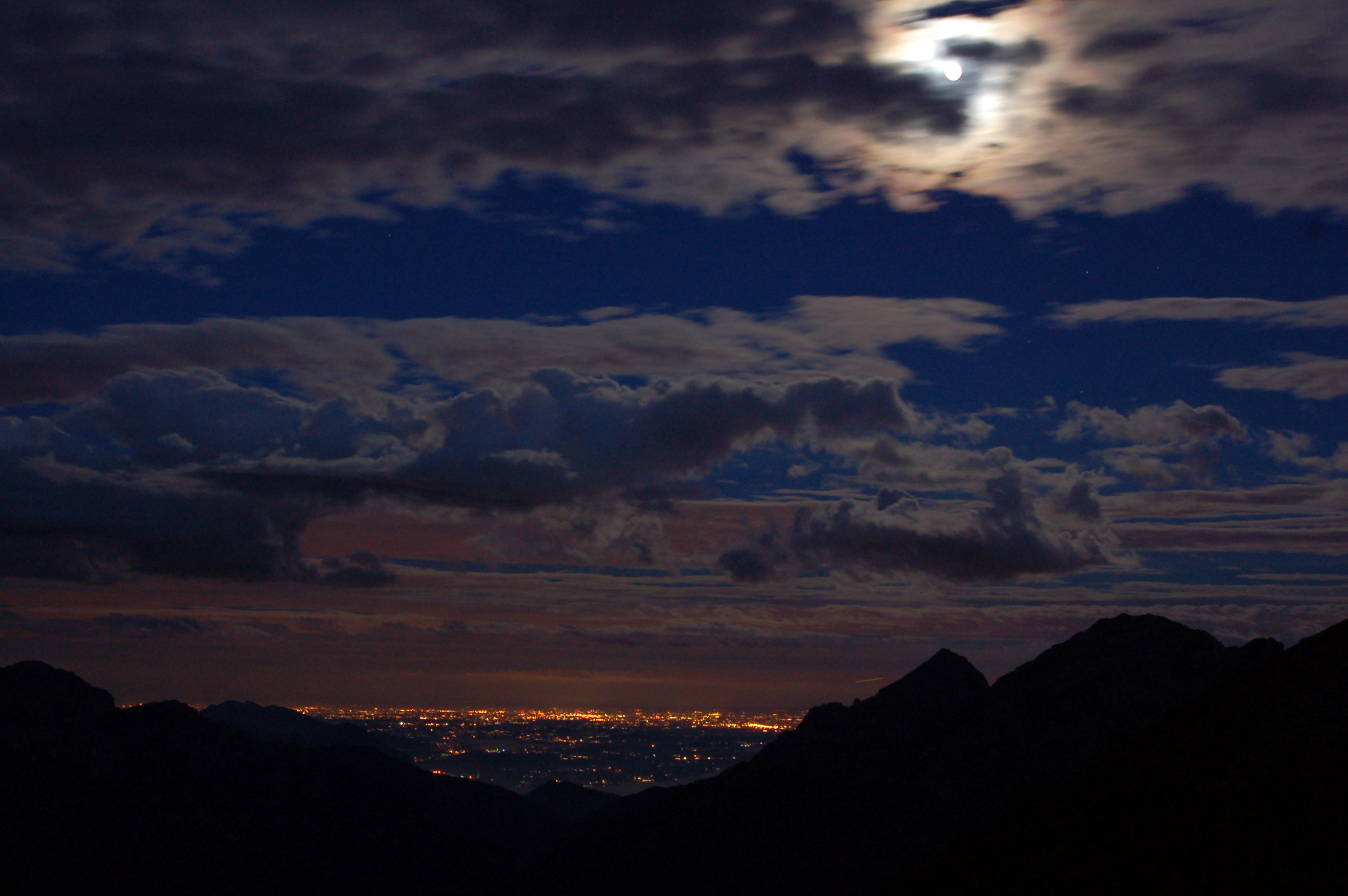 #Nocturne from the mountains to the city...