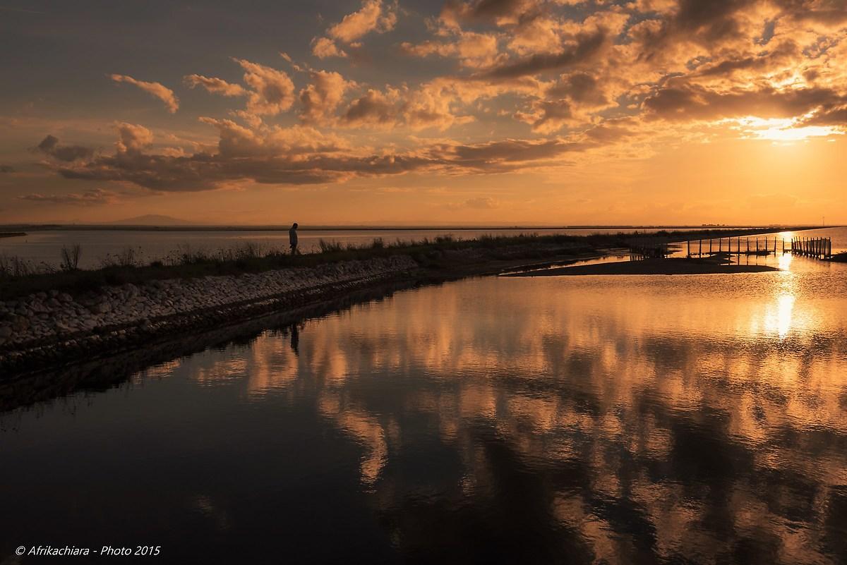 Riflessioni...al tramonto...