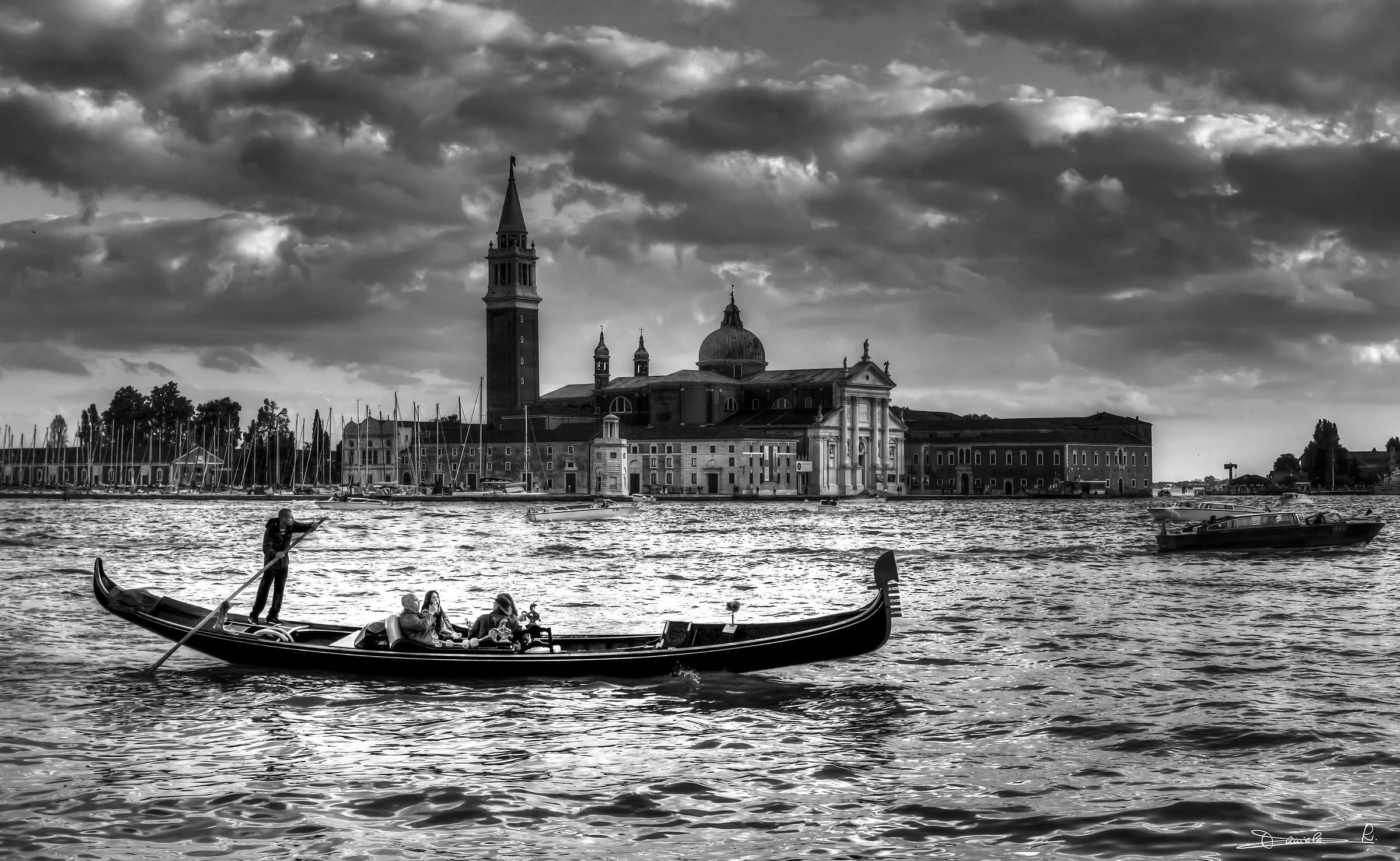 Venezia in B/N...