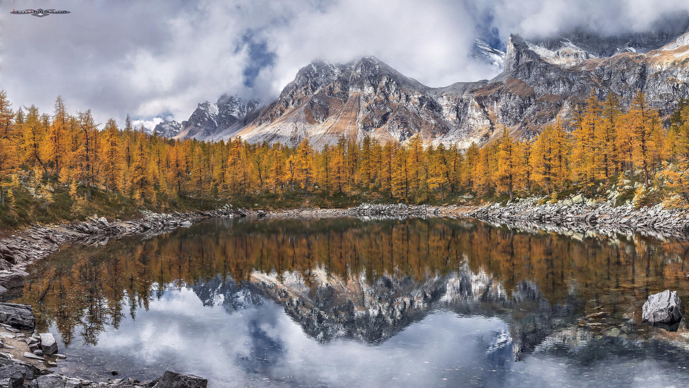 autunno alpe devero *lago nero...